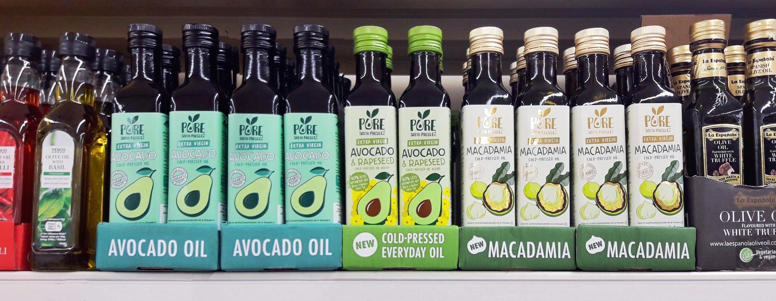 Pure South Press Avocado Oil Macadamia Oil In Tesco.jpg