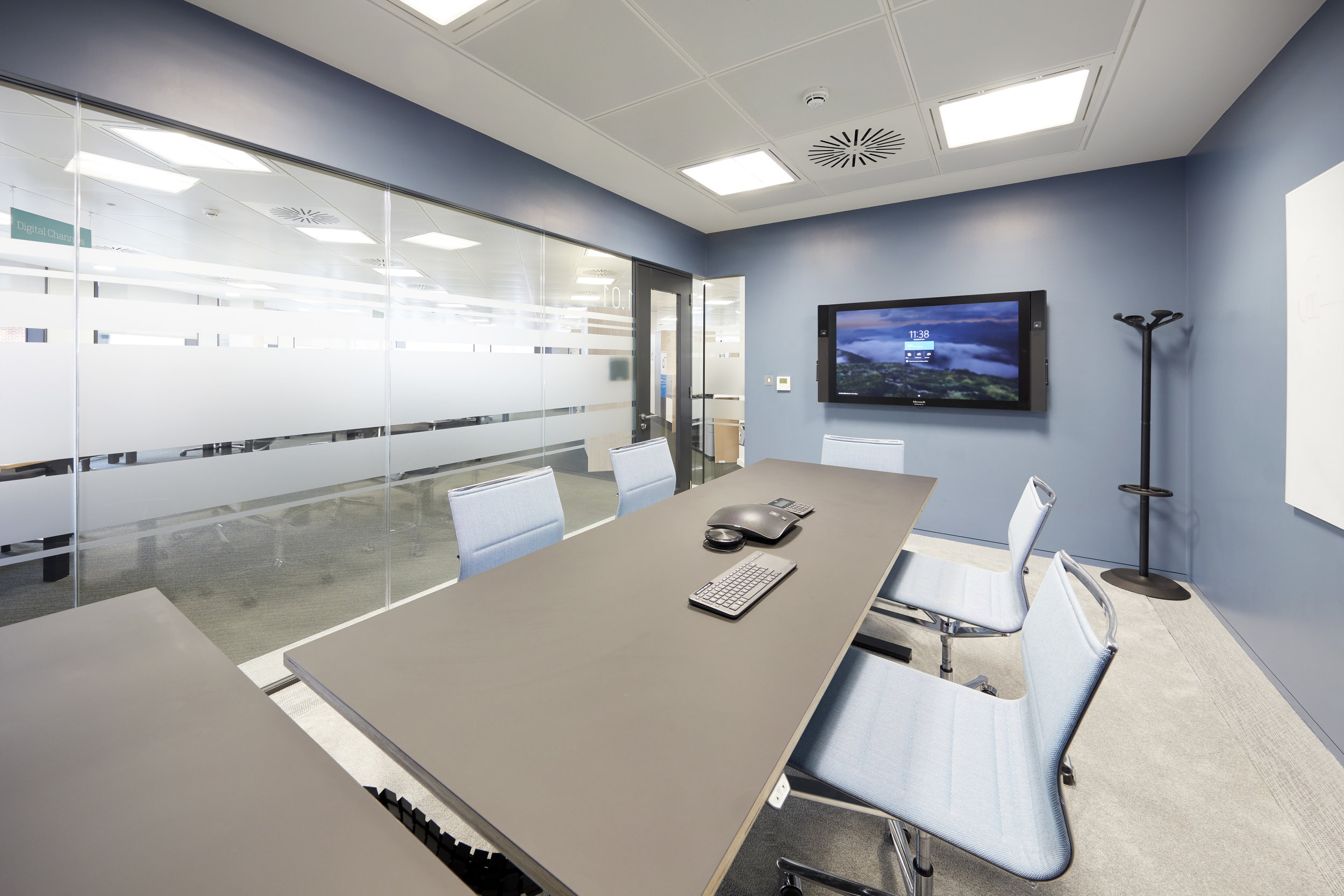 Maersk Executive Office with ICF STICK chairs