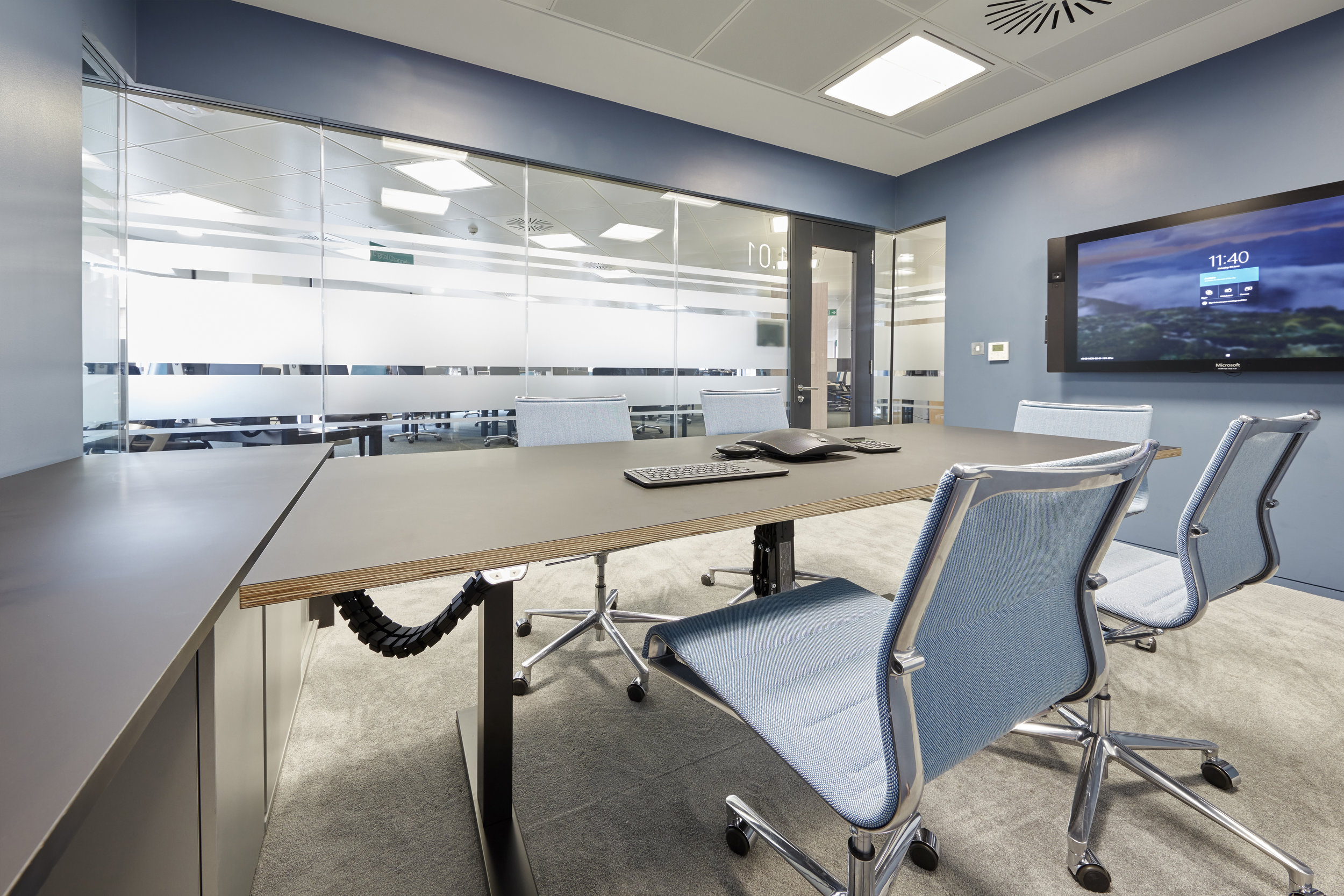Maersk Executive Office - TASK FENIX top desk