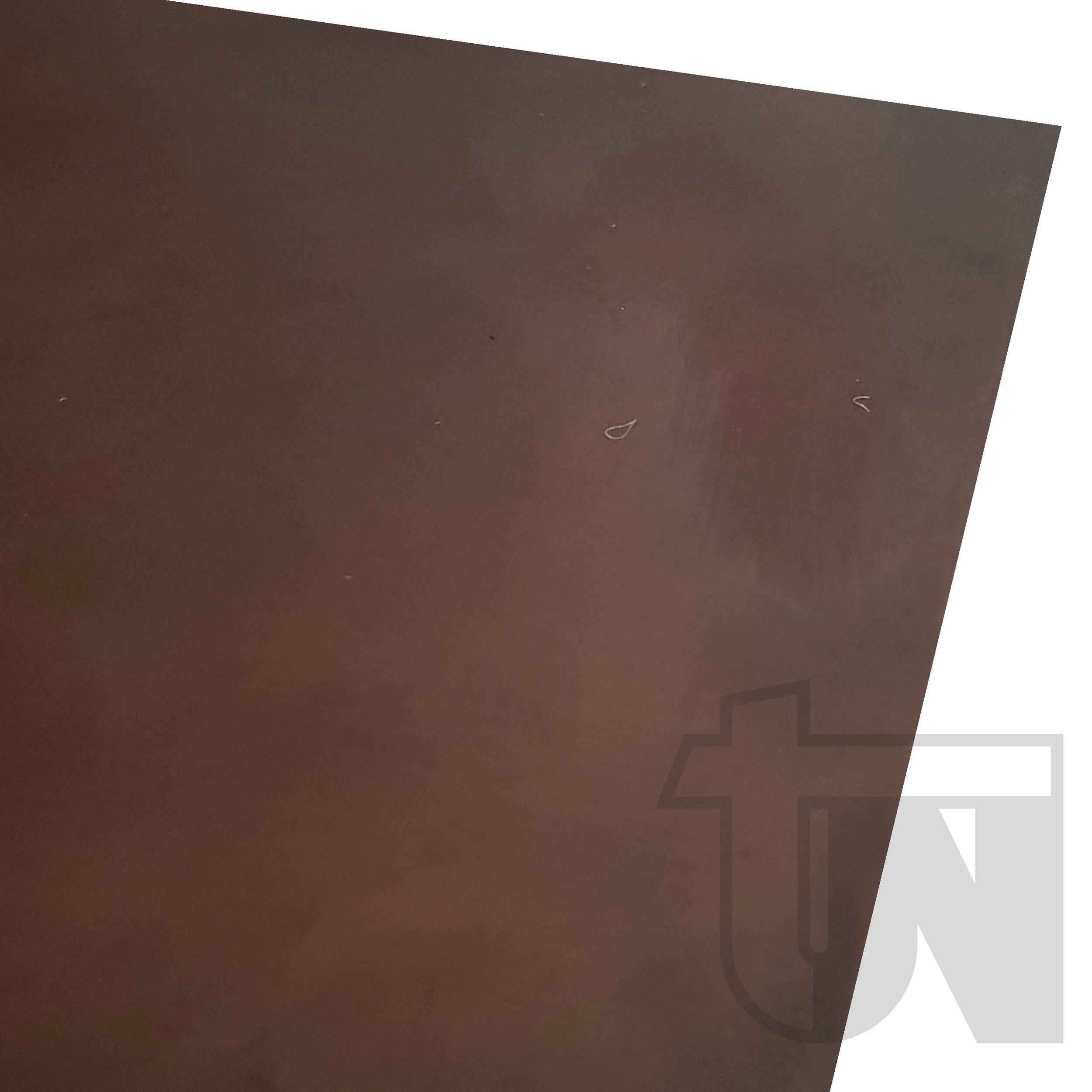 Brown Acid on Mild Steel