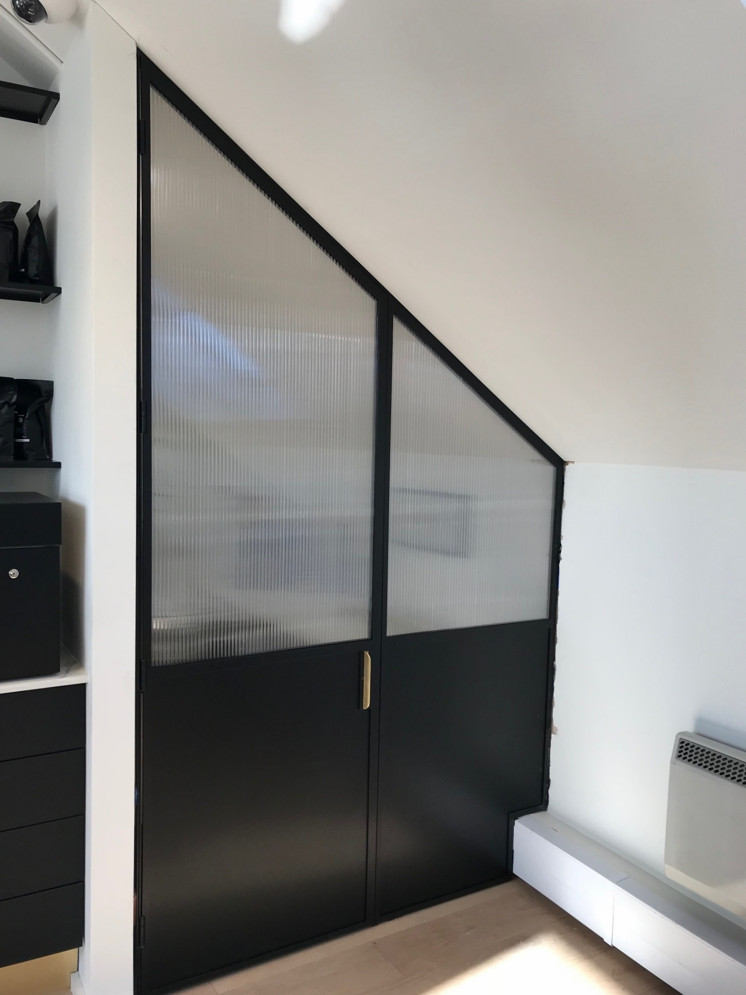 Mild Steel Crittal Style Partition Door