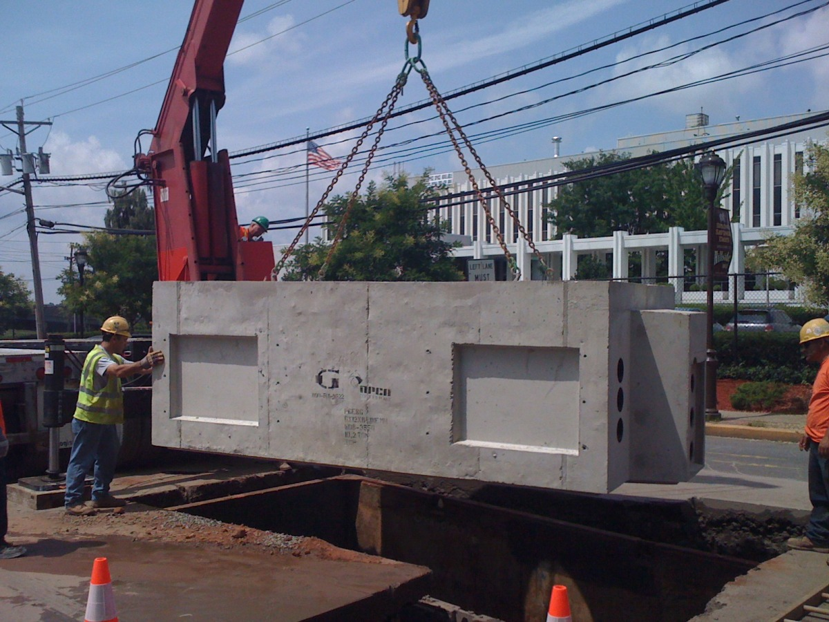 PSEG Line Manhole Installation