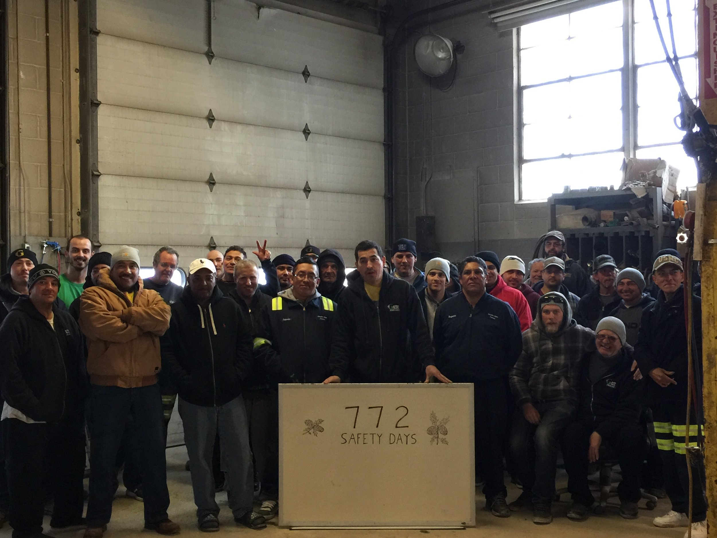 GSP Celebrates 772 Safety Days