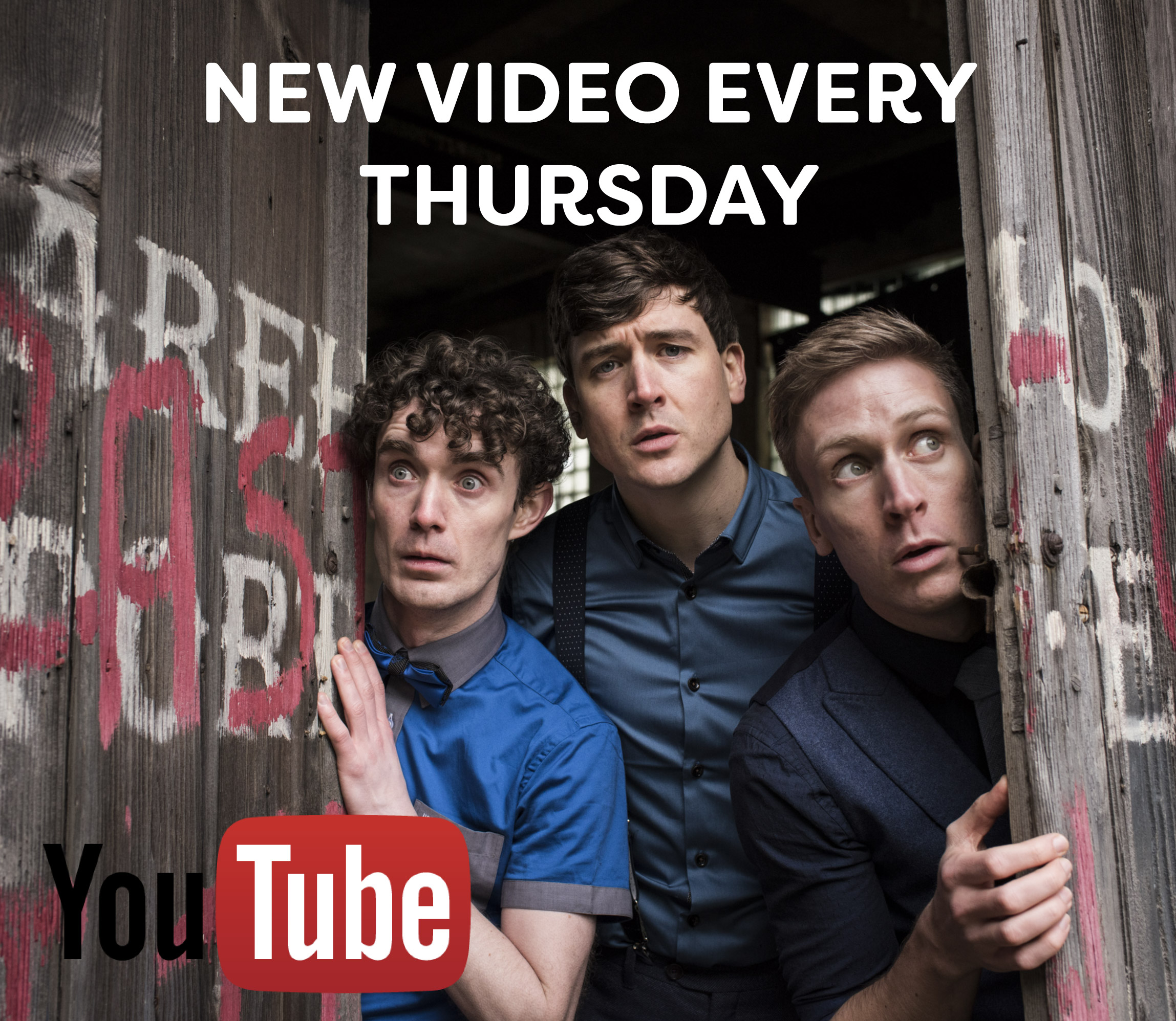 We have a new video on YouTube every Thursday. -