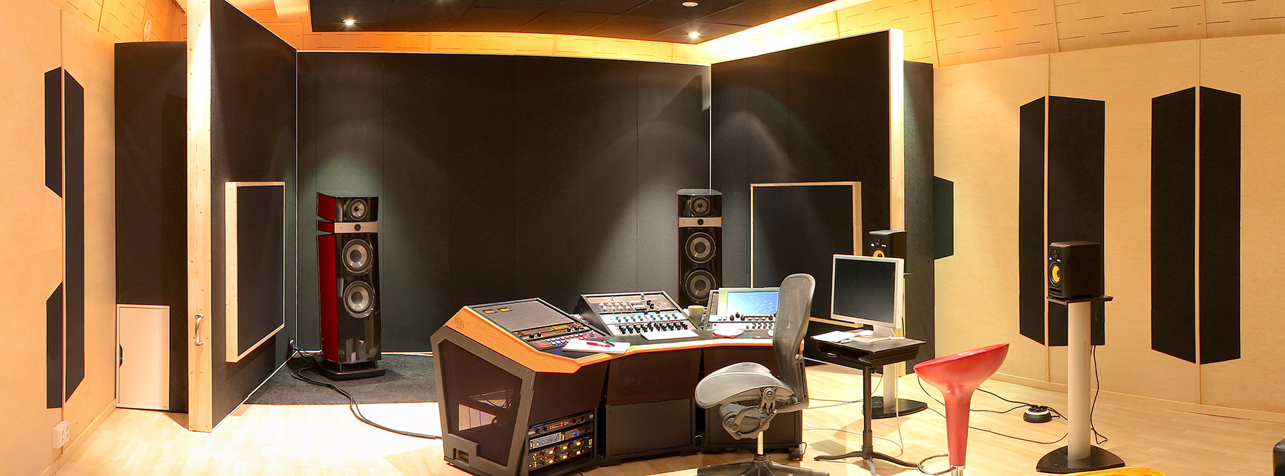 Monsterlab Audio mastering studio, Stockholm