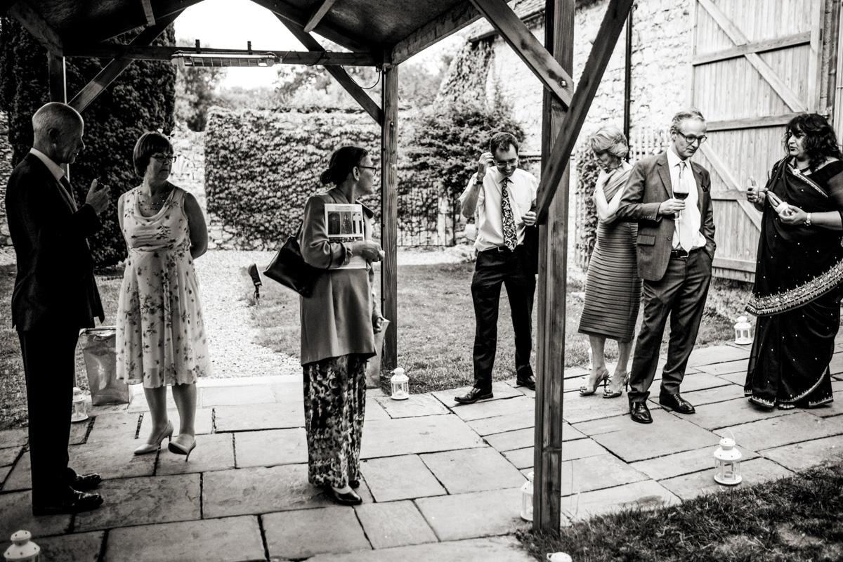 婚礼上的照片不在