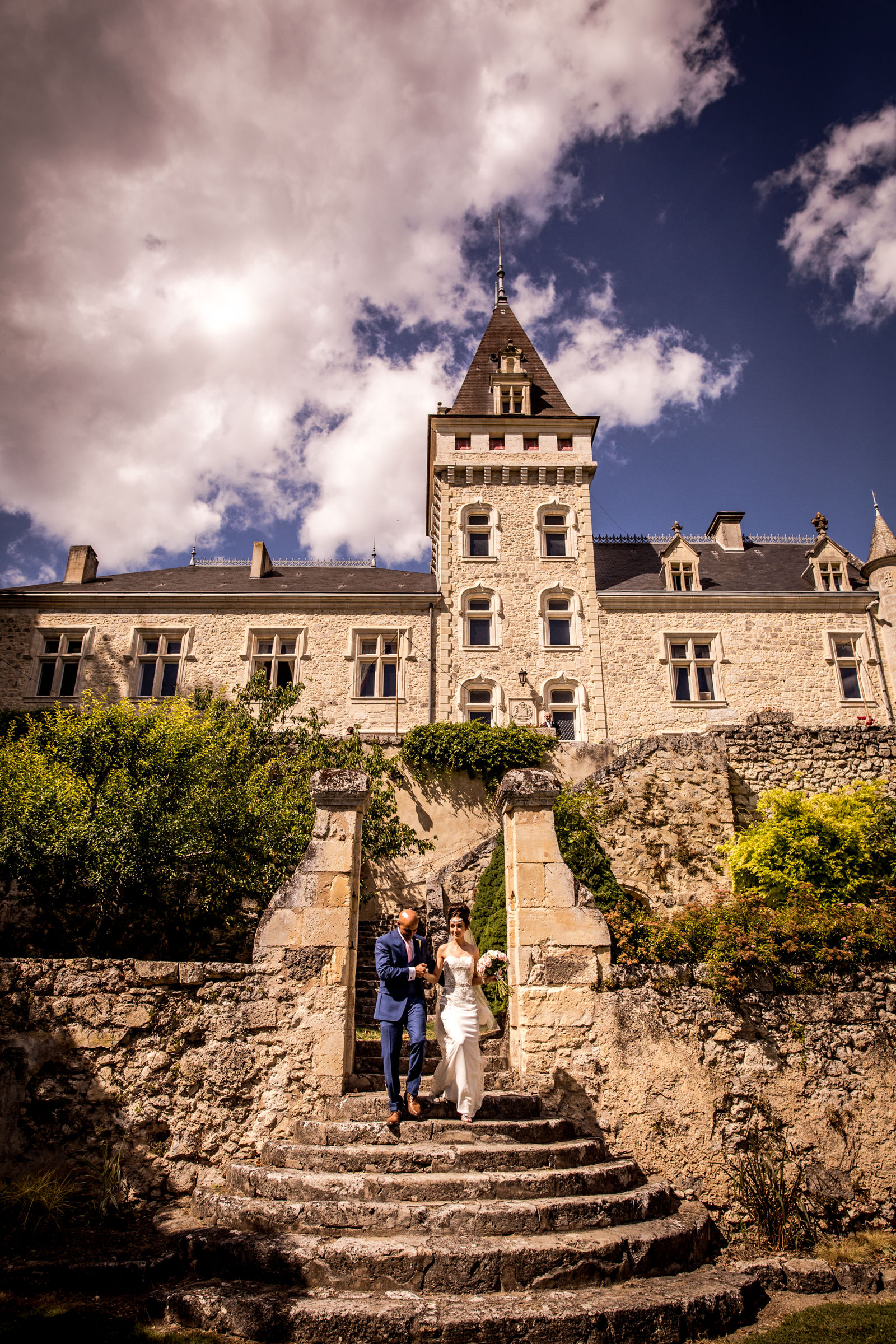 Uk Wedding photographers working at chateau de lisse in gascony 047.jpg