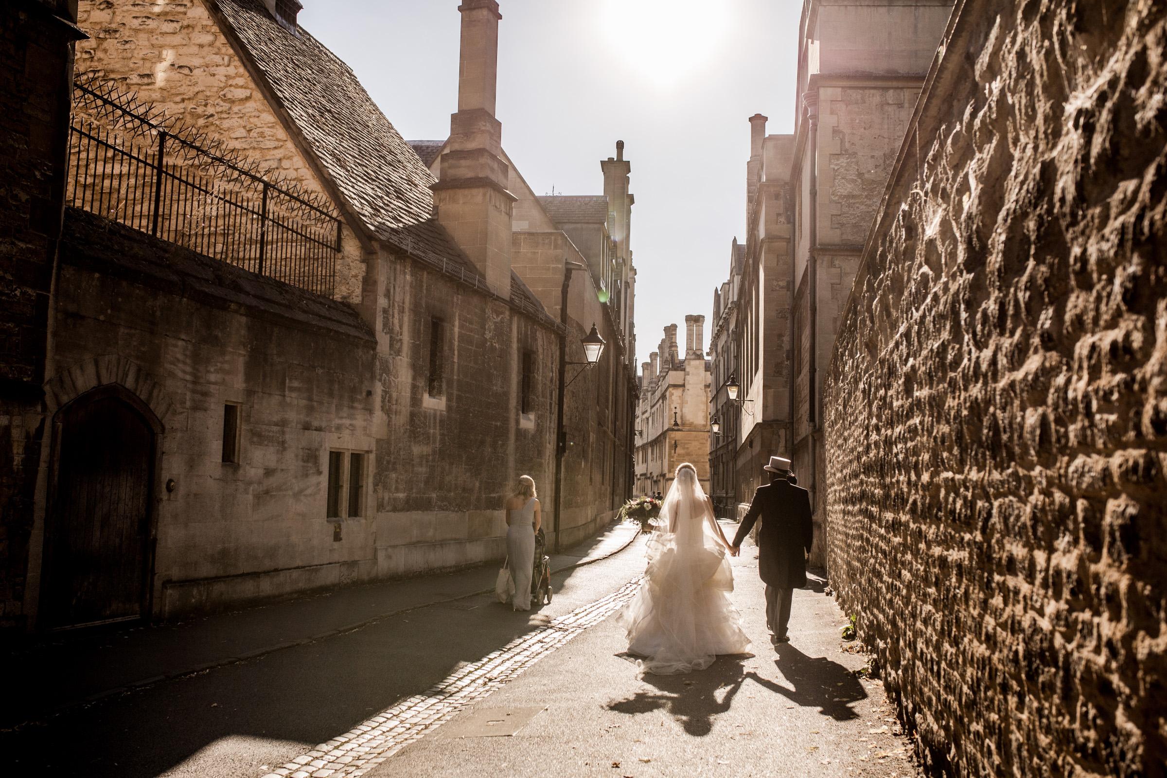 牛津大学的牛津大学婚礼
