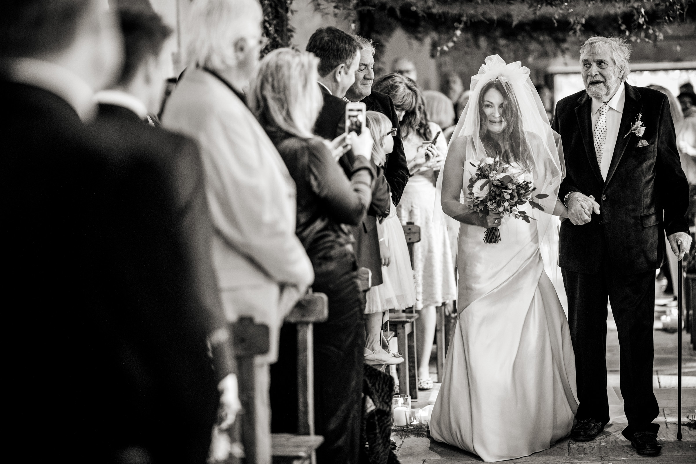 在婚礼上的照片,在圣托弗里的婚礼上