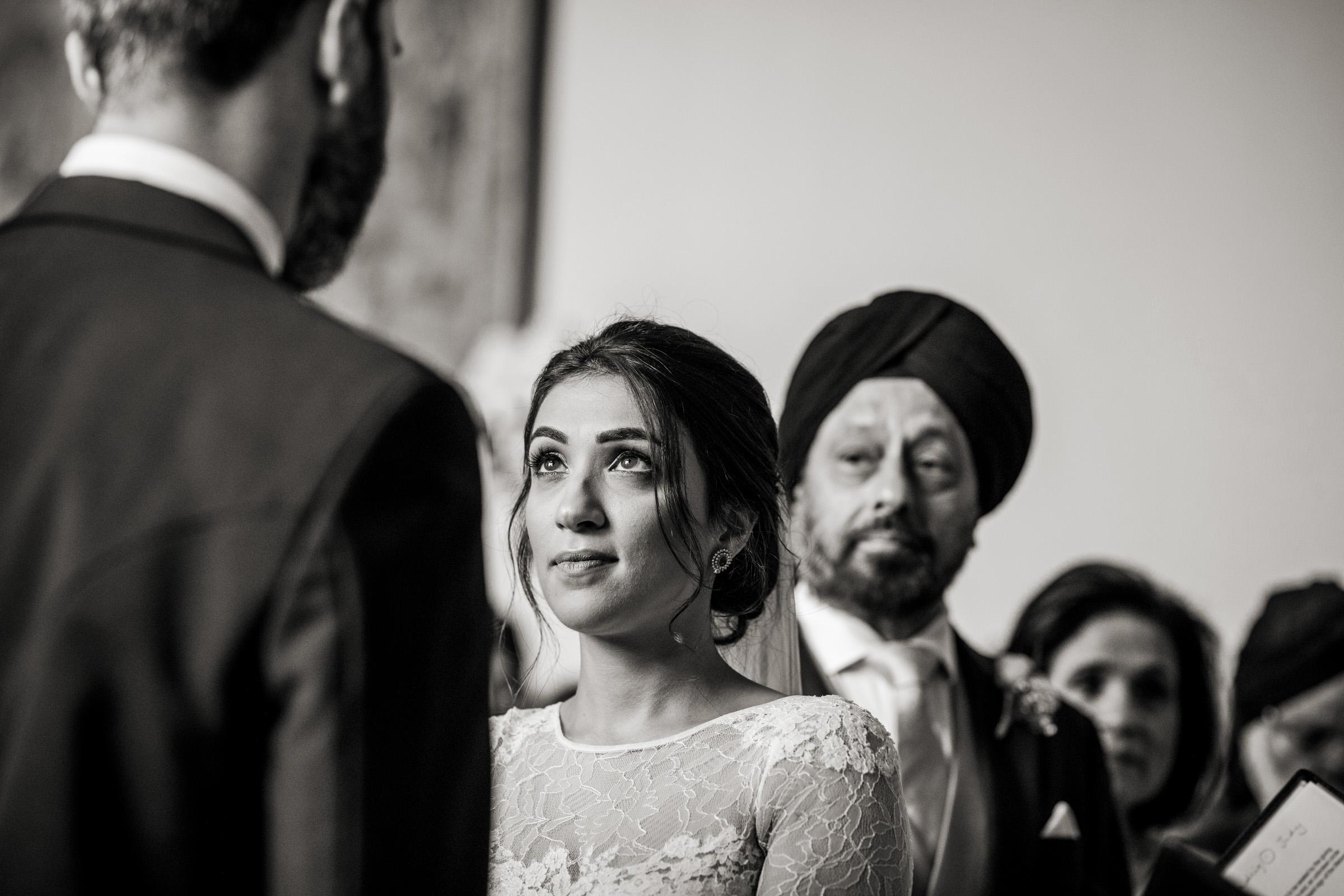 ceremony wedding photography at Elmore Court