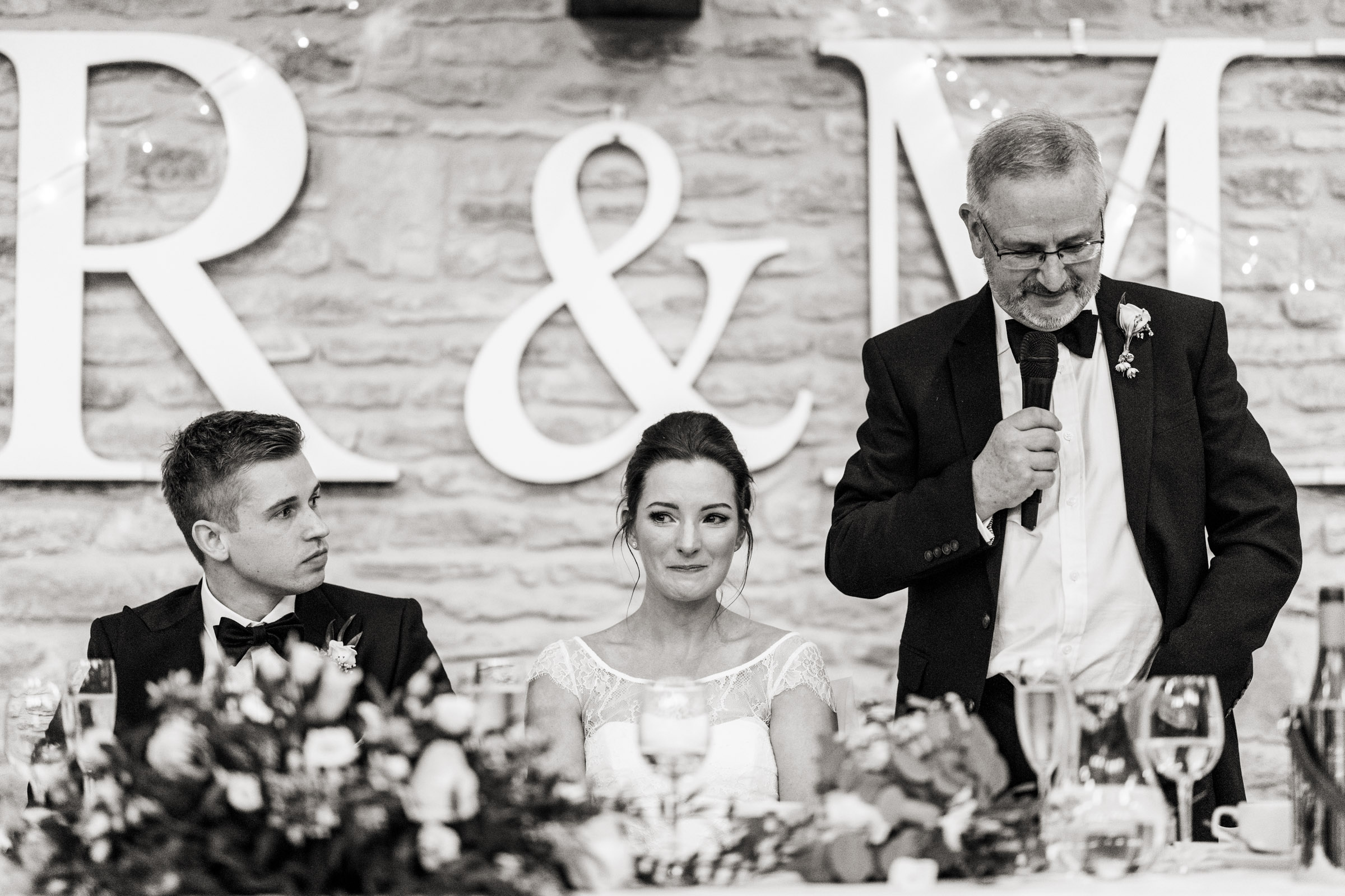 Winkworth Farm Wedding speeches