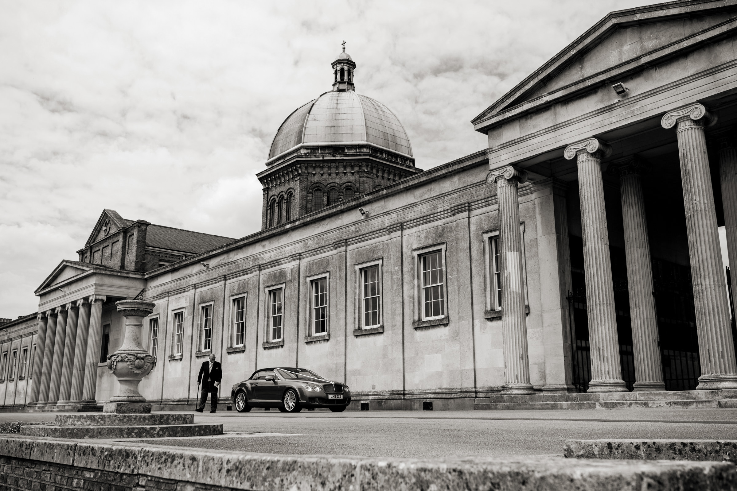 wedding photography at haileybury chapel