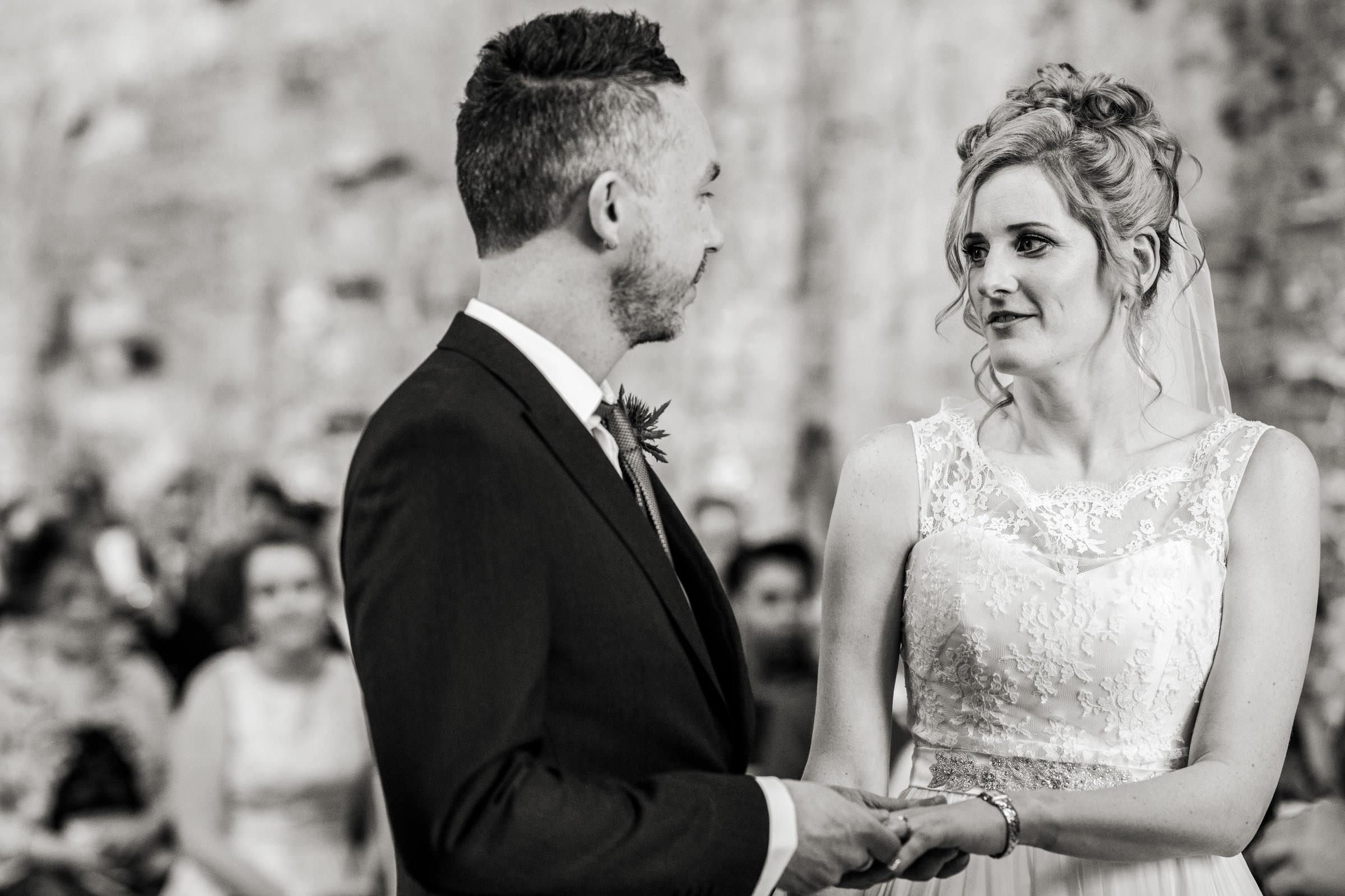 Lulworth Castle civil Wedding ceremony