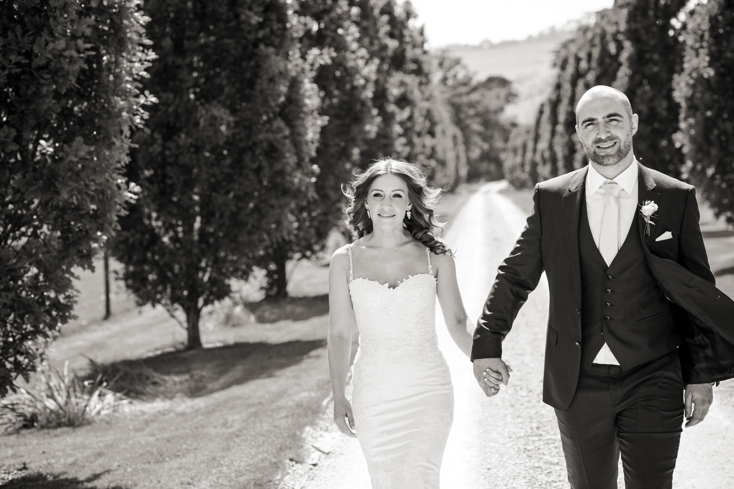 Pynes House Wedding couple