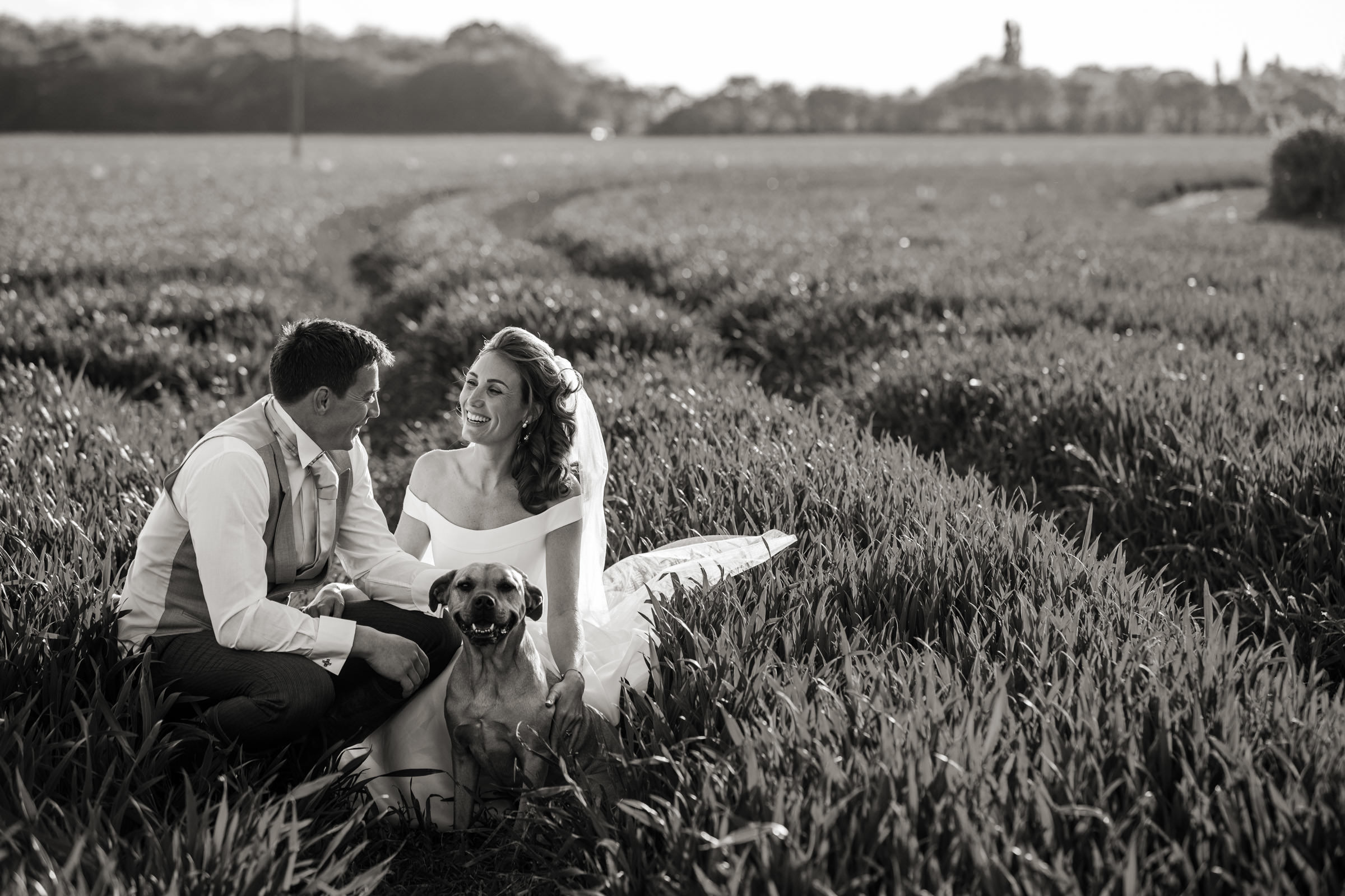 Rural wedding photo essex