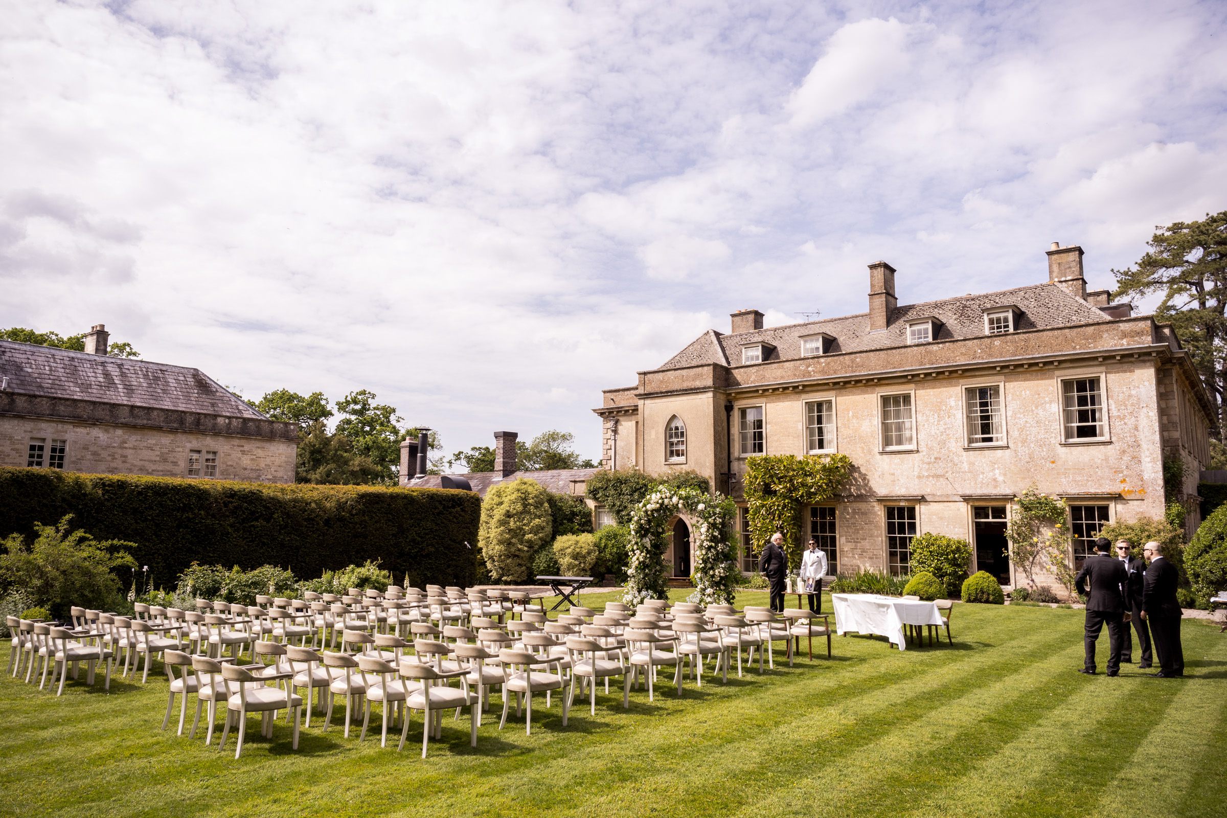 Babington House Outdoor Civil Ceremony and Wedding Day 007.jpg