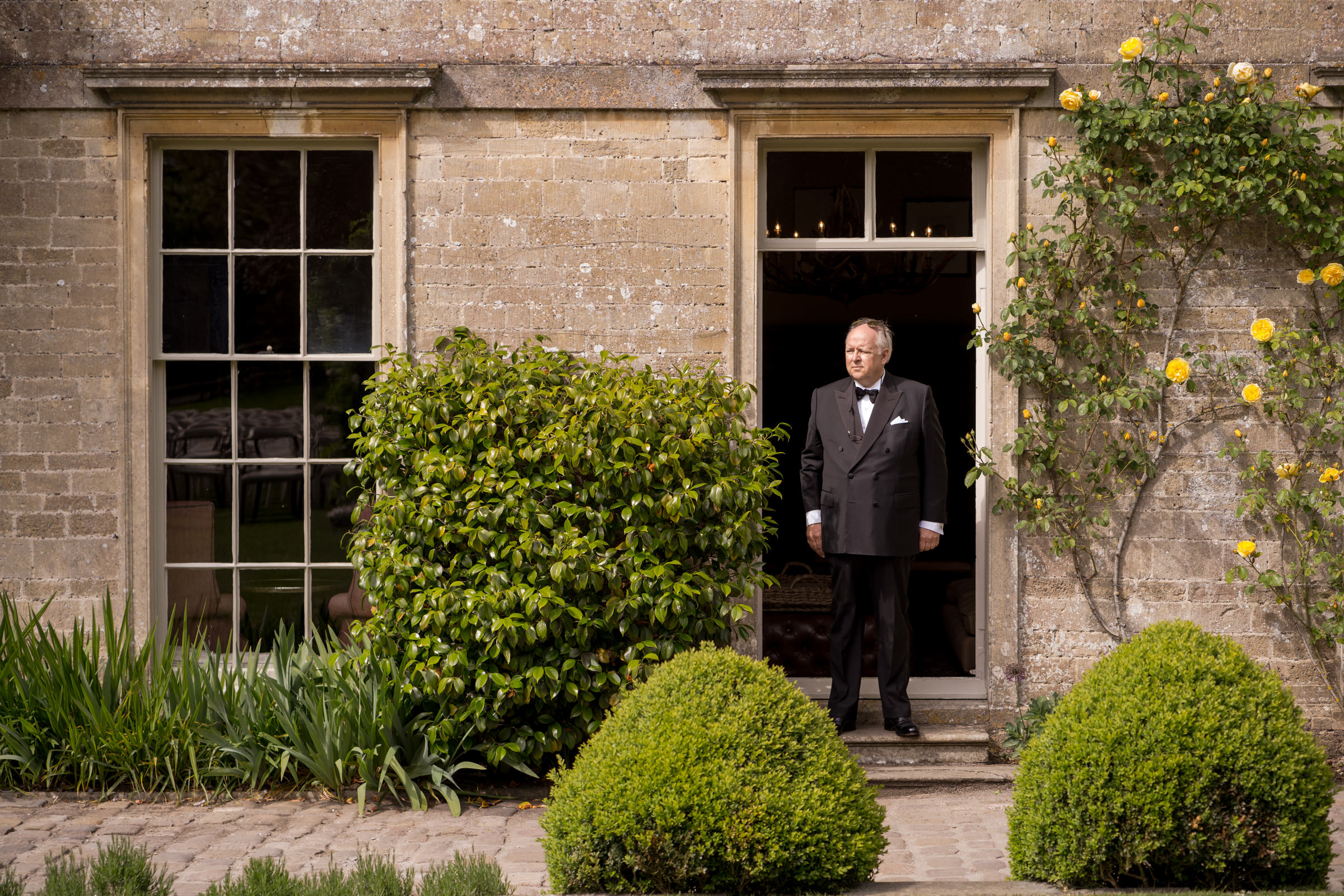 Babington House Outdoor Civil Ceremony and Wedding Day 013.jpg