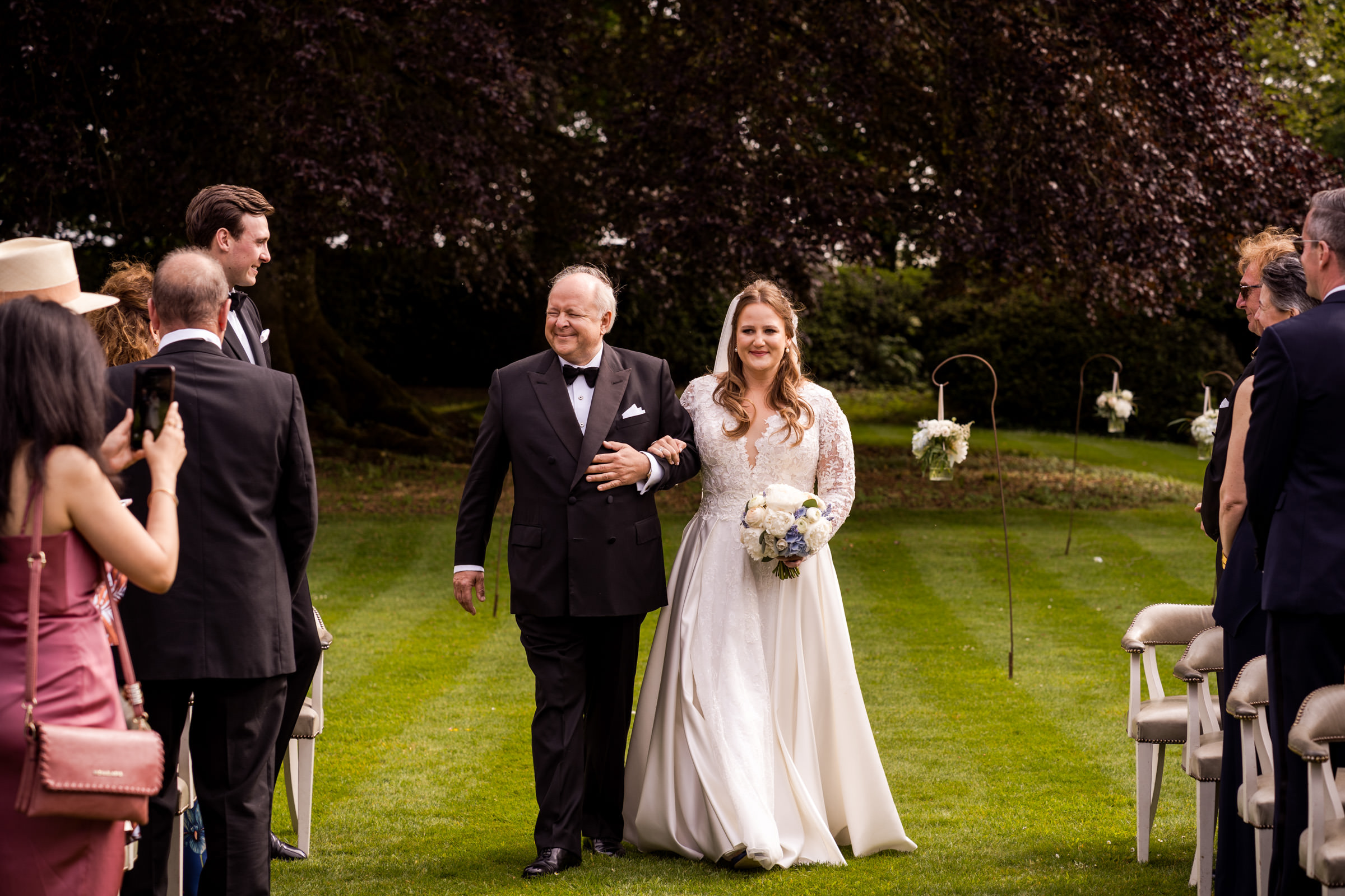Babington House Outdoor Civil Ceremony and Wedding Day 014.jpg