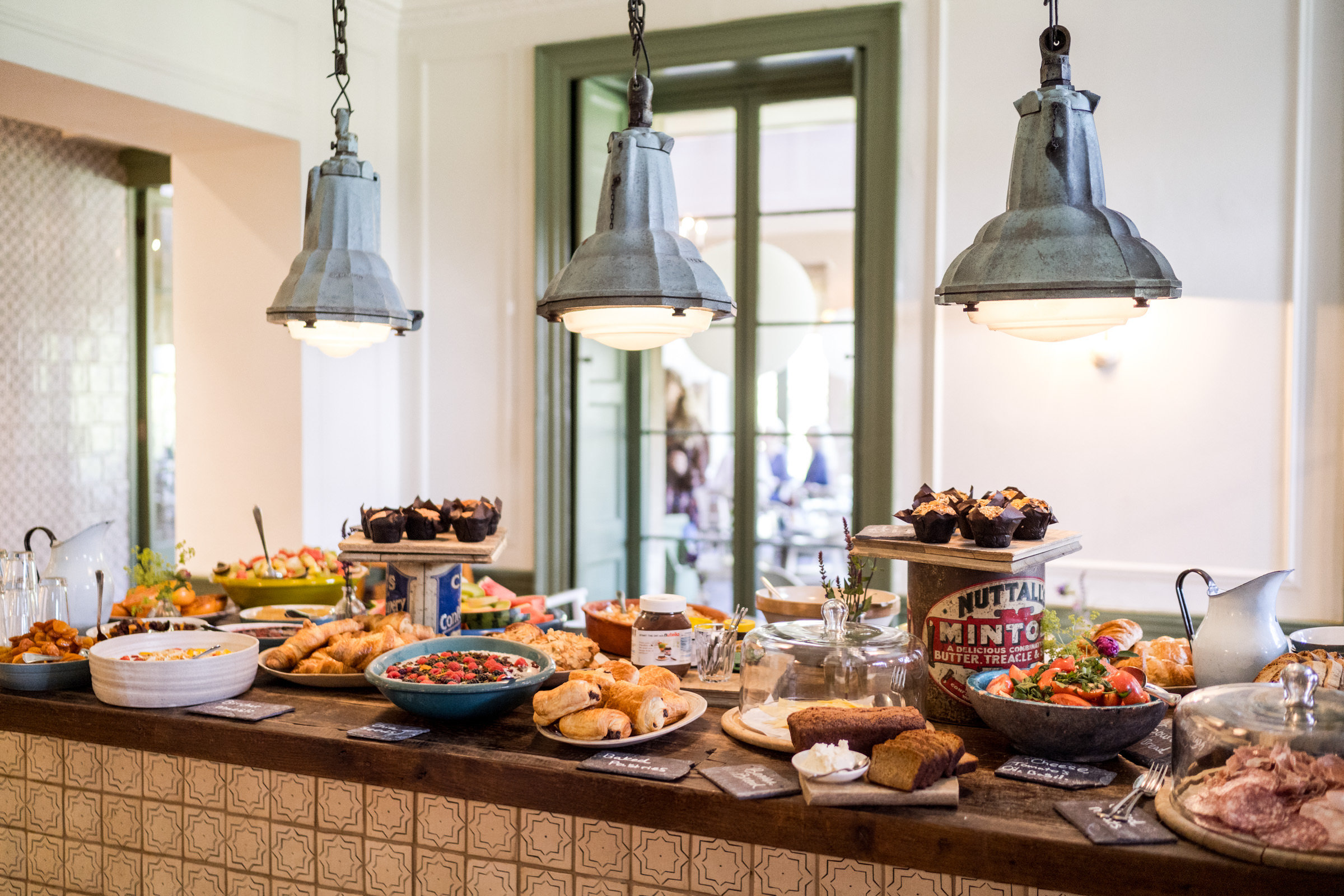 Babington House Wedding Brunch