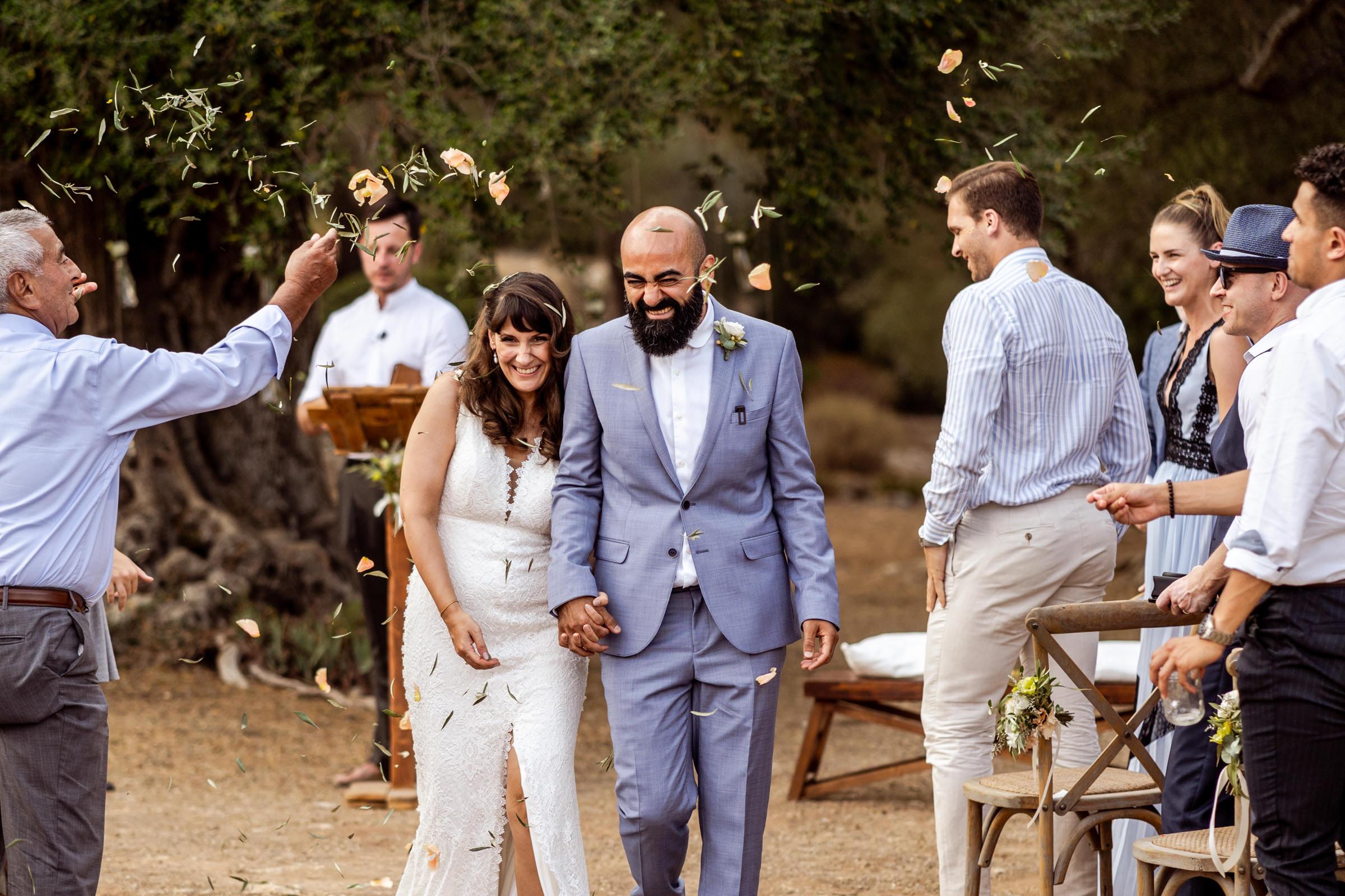 Mallorca - Son Mesquida Nou - Wedding confetti