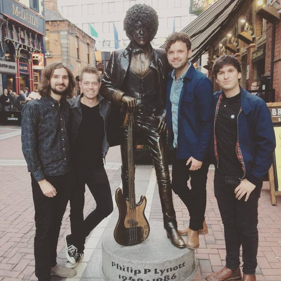 Hangin' out with a legend before the Church gig