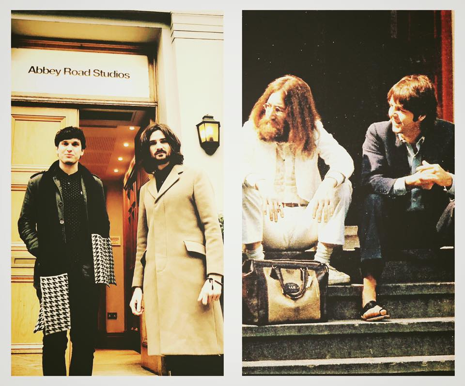 Steps to Abbey Road - now and then