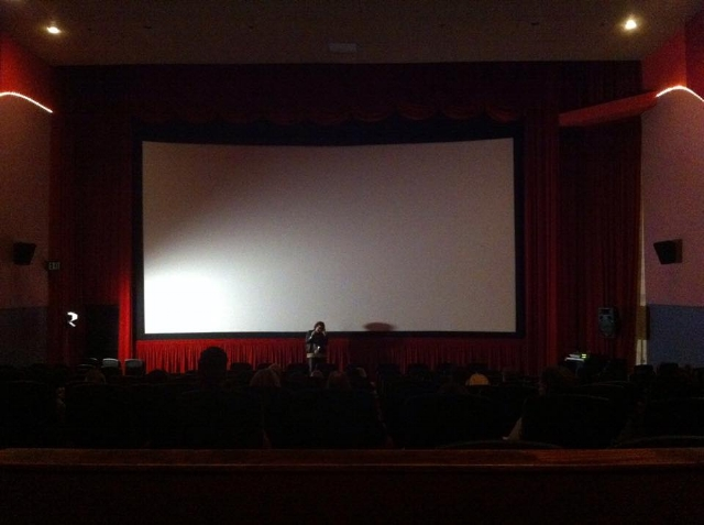 Waiting for Stand Down to be screened at Newport Beach Film Festival