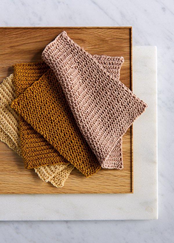 Free Knitting Patterns for Fall Close Knit Washcloths Purl Soho.jpg