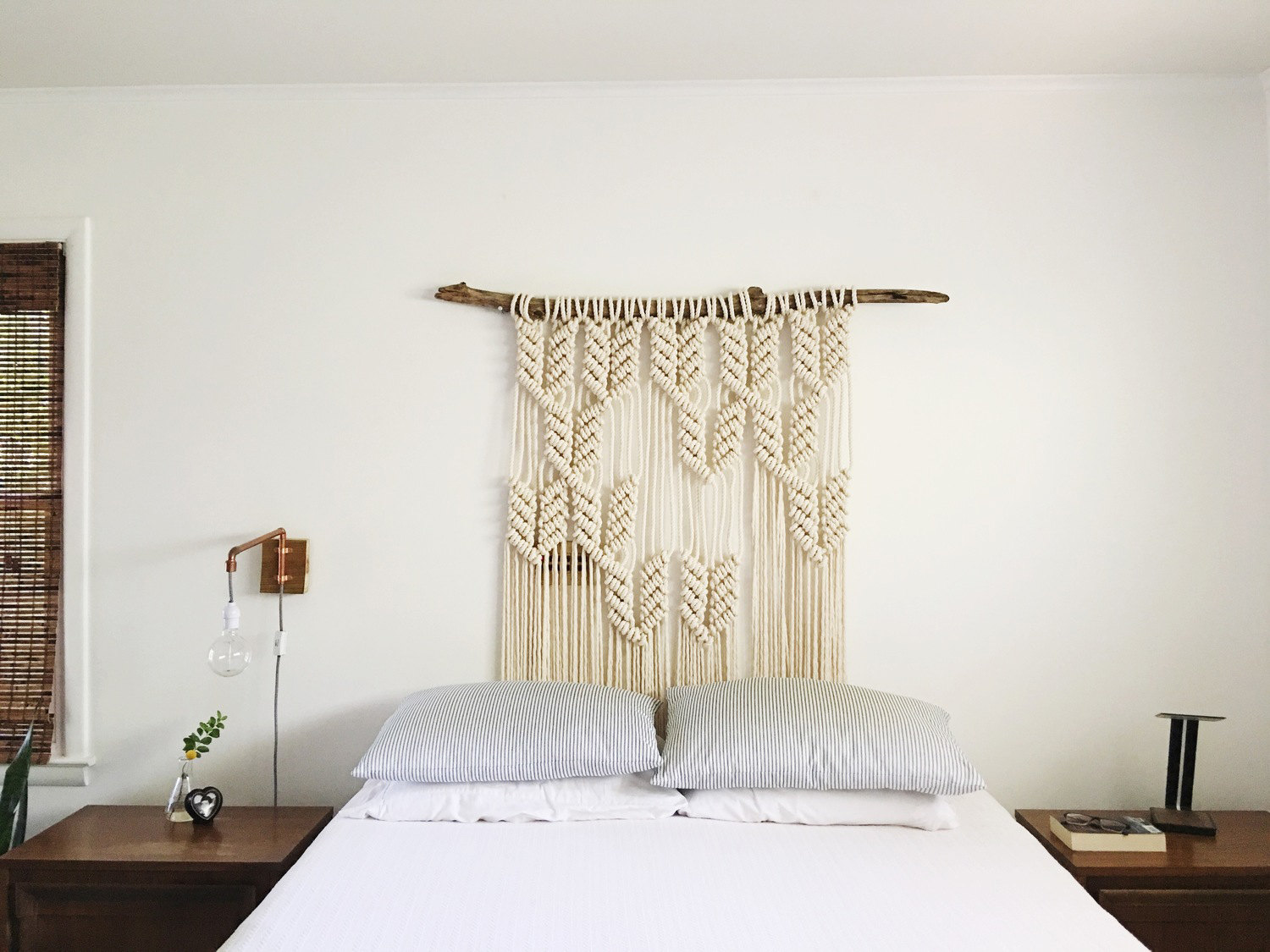 Macrame Headboard Wedding Decor