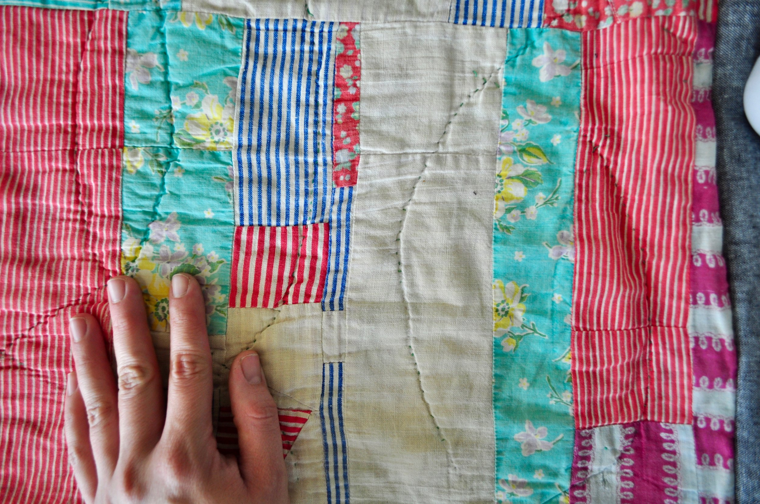 How to repurpose an old quilt.jpg