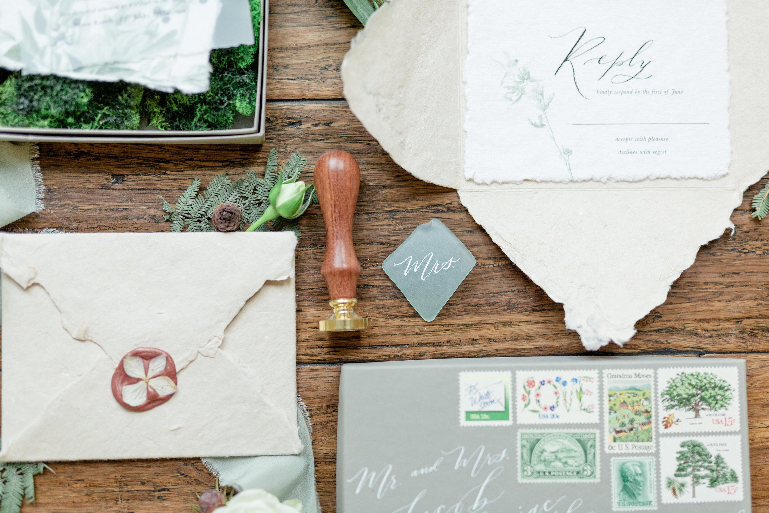 macrame boho beach driftwood wedding invitations stationery.jpg