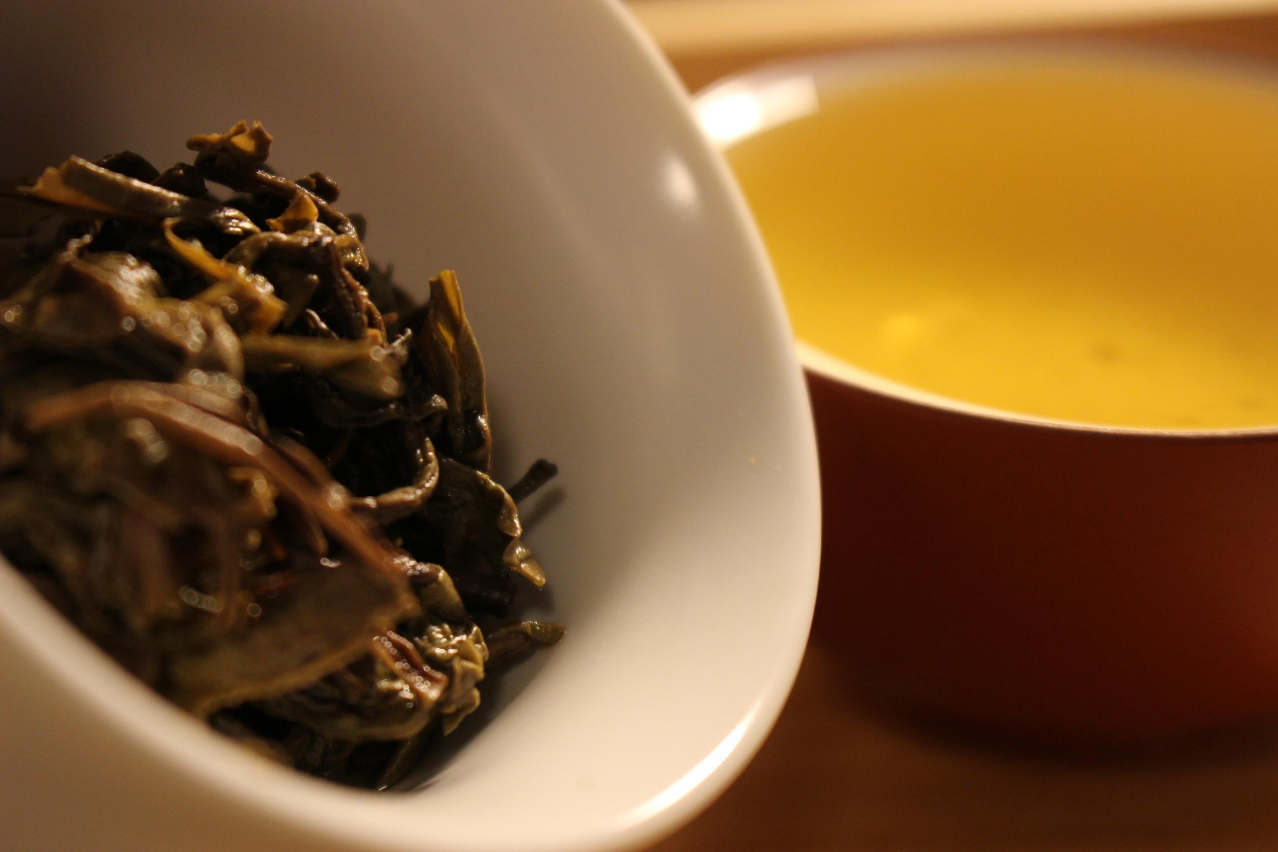 Sheng Pu'er Tea