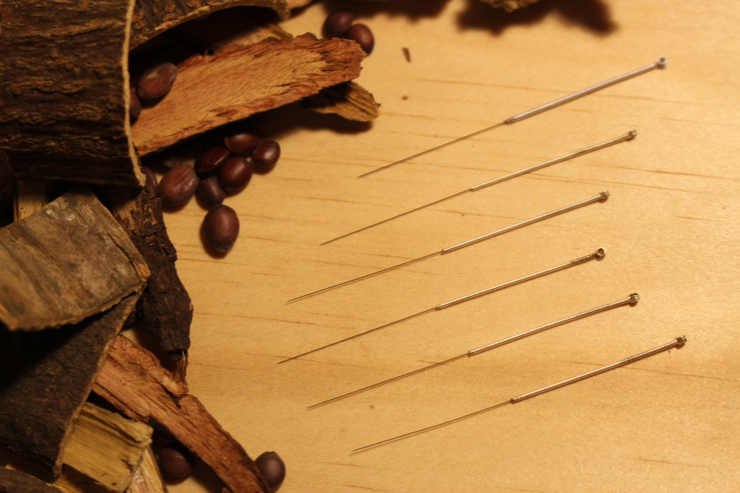 Acupuncture needles & Chinese herbs