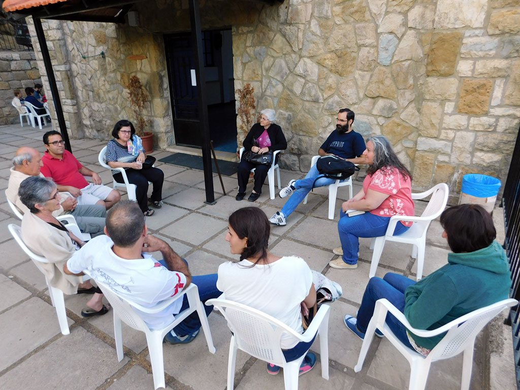 One of the study groups