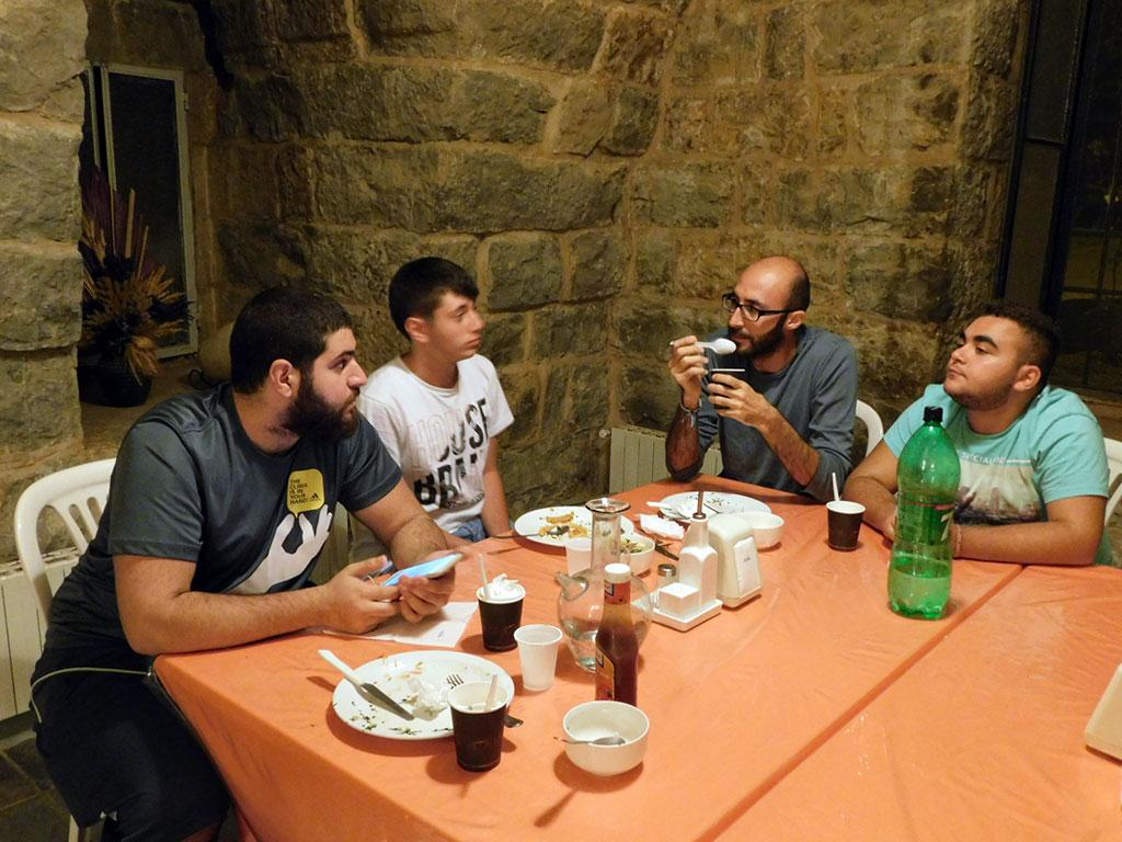 Dinner and fellowship
