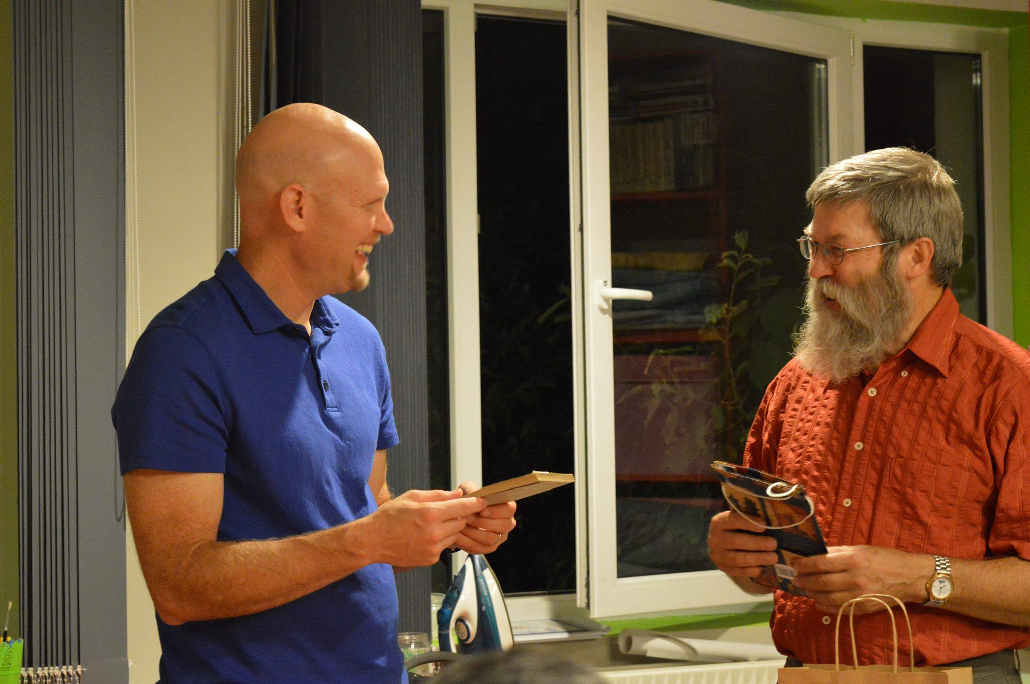 Dr. Dave Coryell and Mr. Andreas A. Rudolf