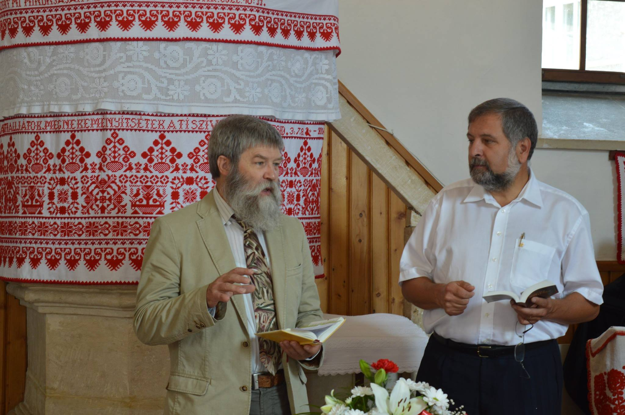 Mr. Andreas A. Rudolf and Rev. Kálmán Adorján