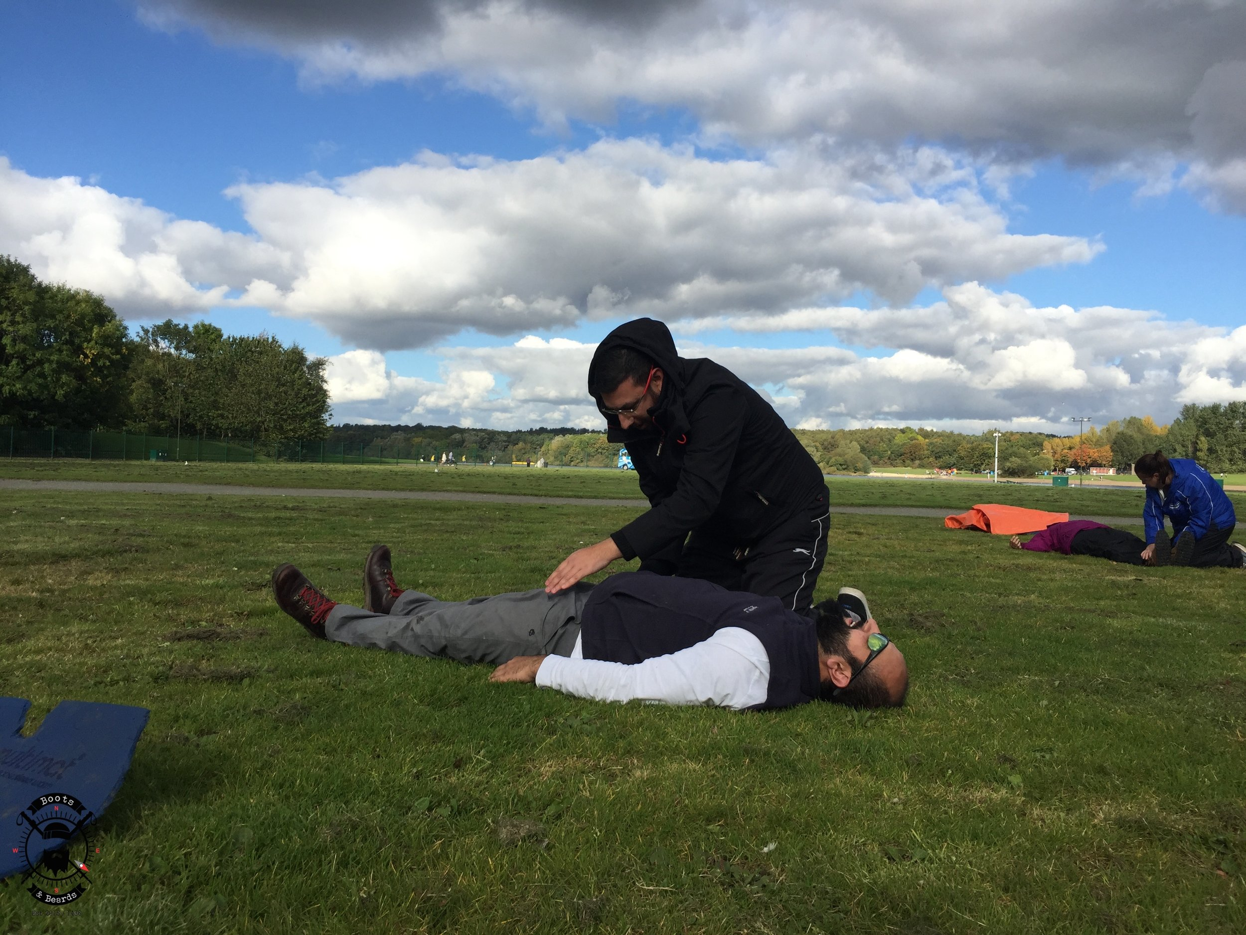 boots and beards outdoor first aid training scotland glasgow forestry commission scotland cooperative5.jpg