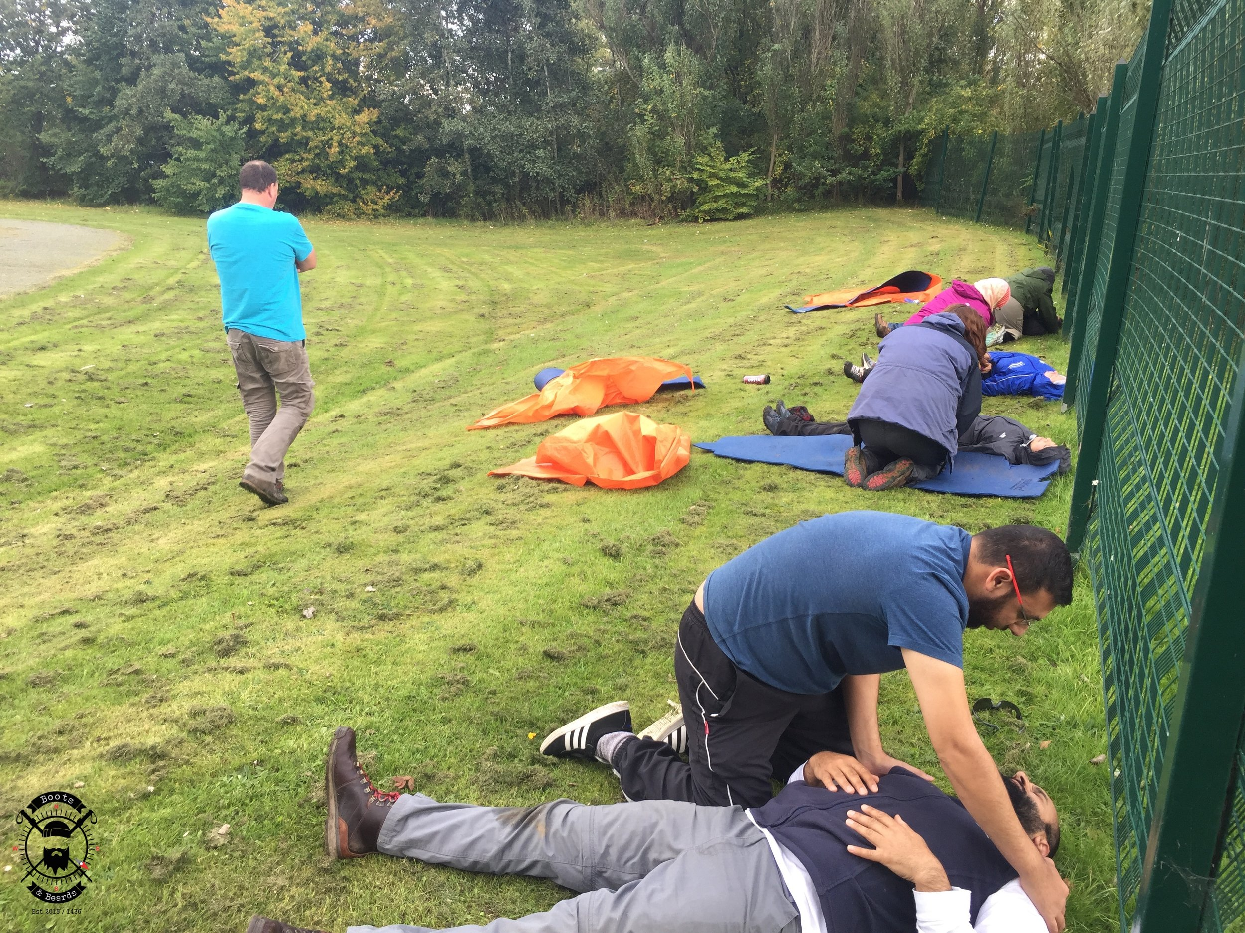 boots and beards outdoor first aid training scotland glasgow forestry commission scotland cooperative7.jpg