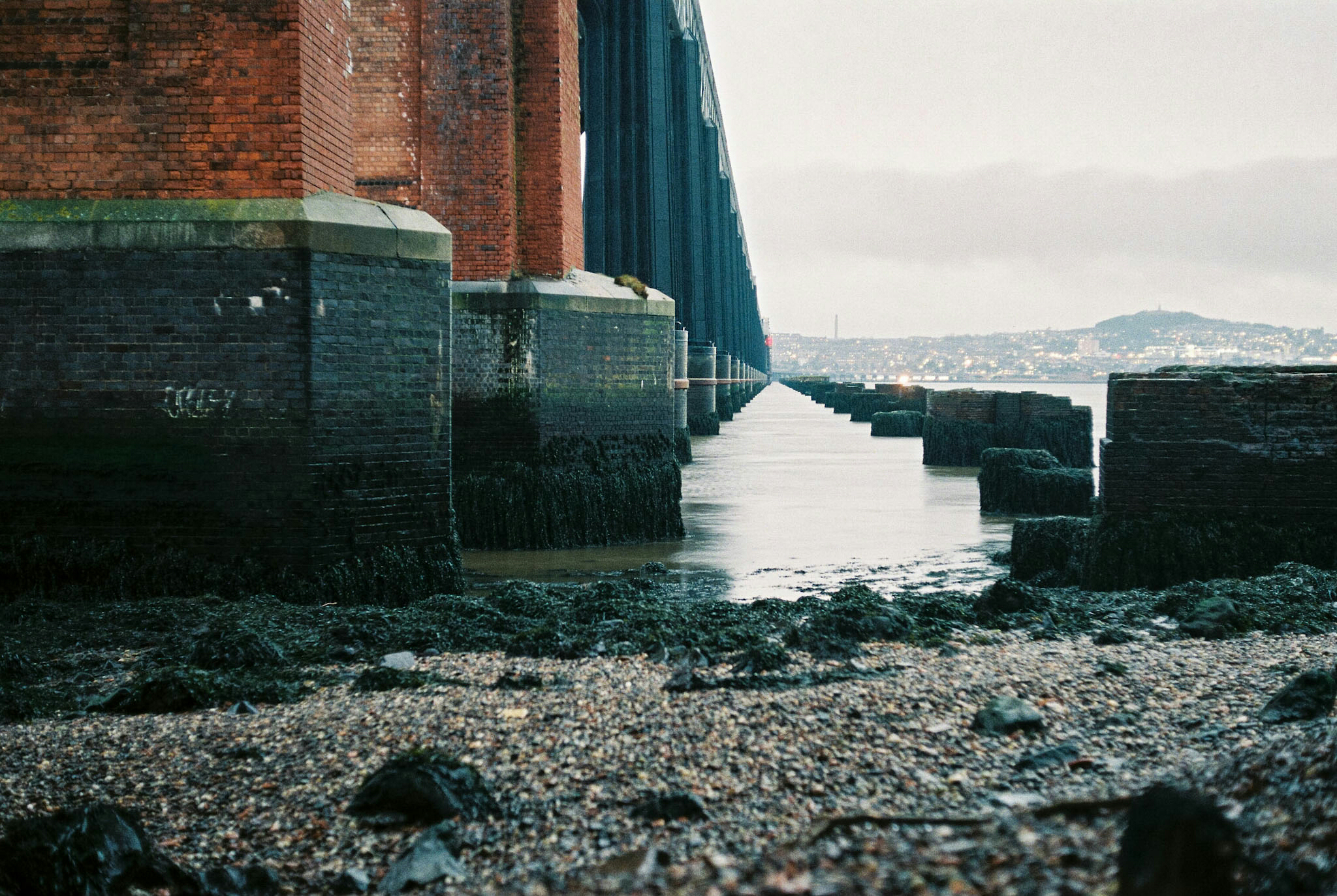 One point perspective, shot with the Exa on Agfa Vista 200.