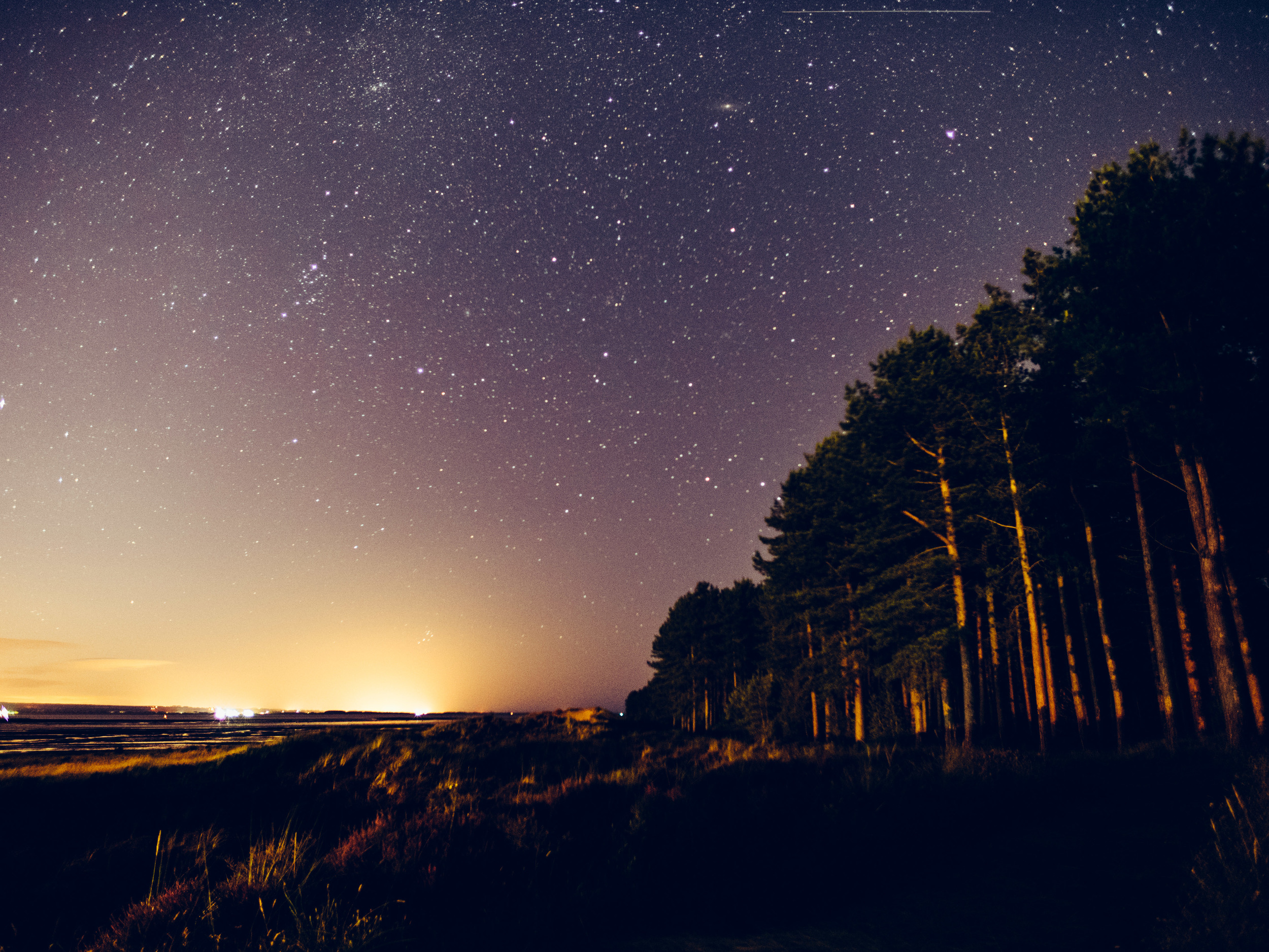 Amazing views despite a little light pollution.