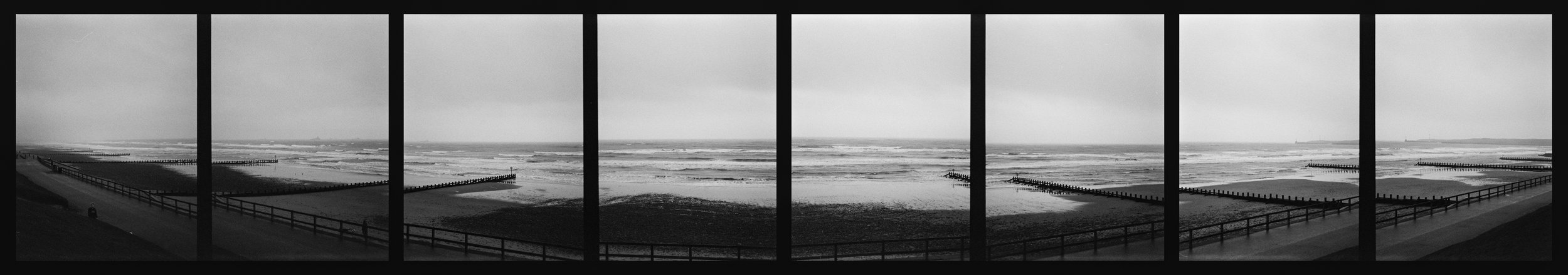 Aberdeen Beach Panorama, shot on Canon Multi Tele