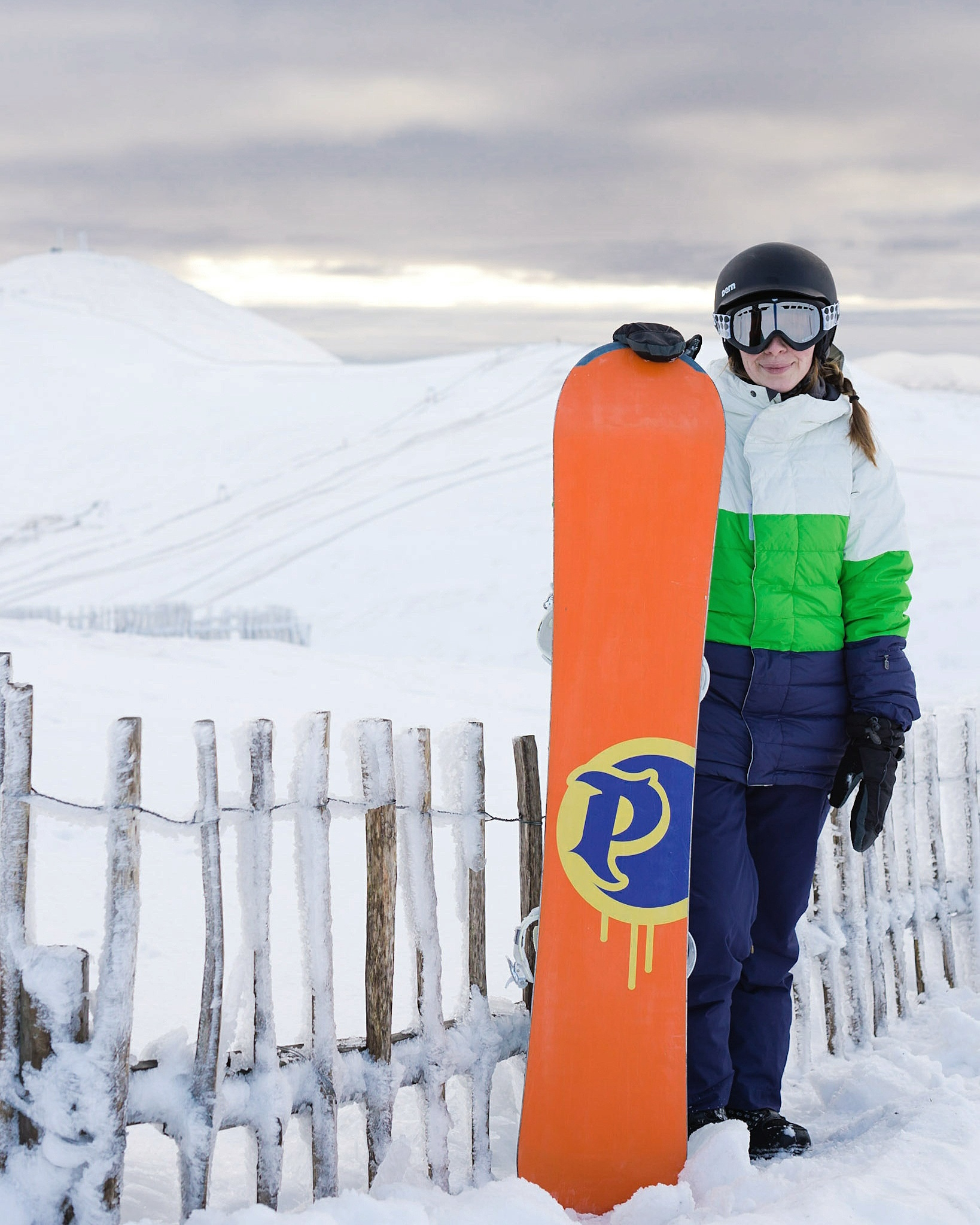 Kate ready to shred the Shee   #365photochallenge   #365portraits    #11of365    #nikondf   #nikon50mm
