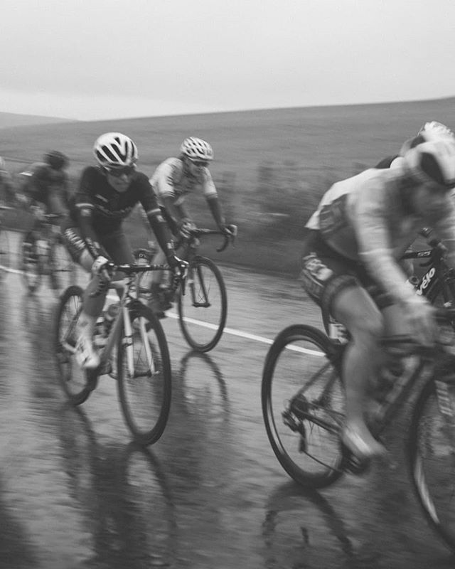 #womenstourofscotland toughing out the horrendous conditions on stage 1!  #visitscotland  #bringanumbrella