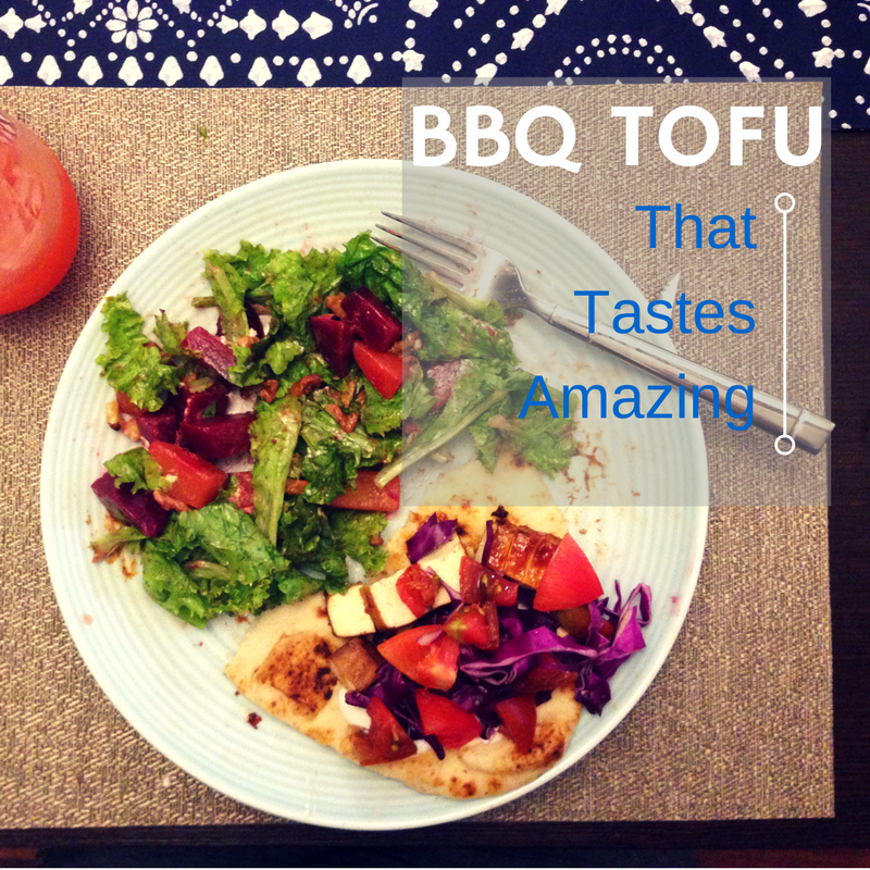 Tofu doesn't have to be a weird and scary ingredient, keep it simple and yummy!