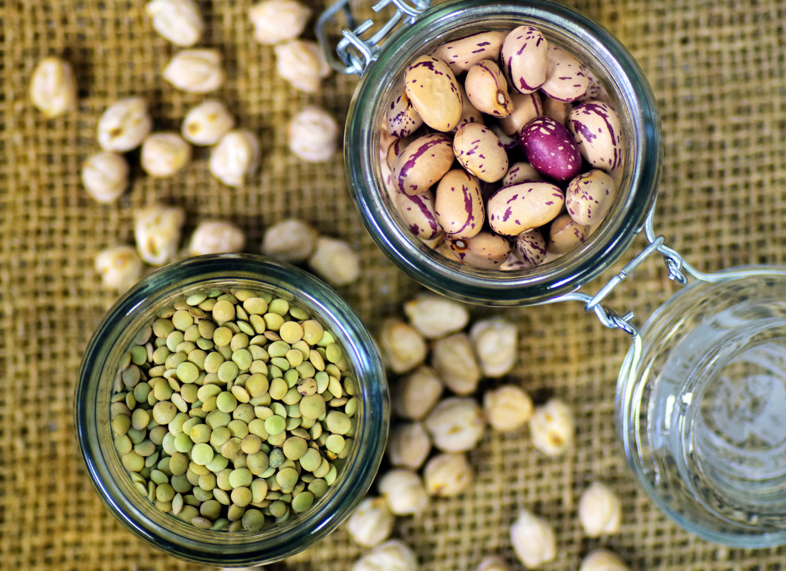 Canva - Beans, Lenses, Quail Beans, Legumes, Food, Meatless.jpg