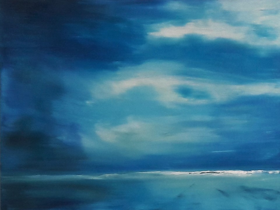 Wave  18 x 24 inch oil on canvas