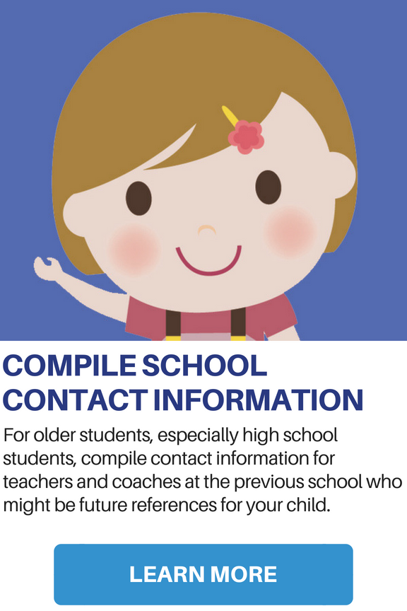 Compile School Contact Information
