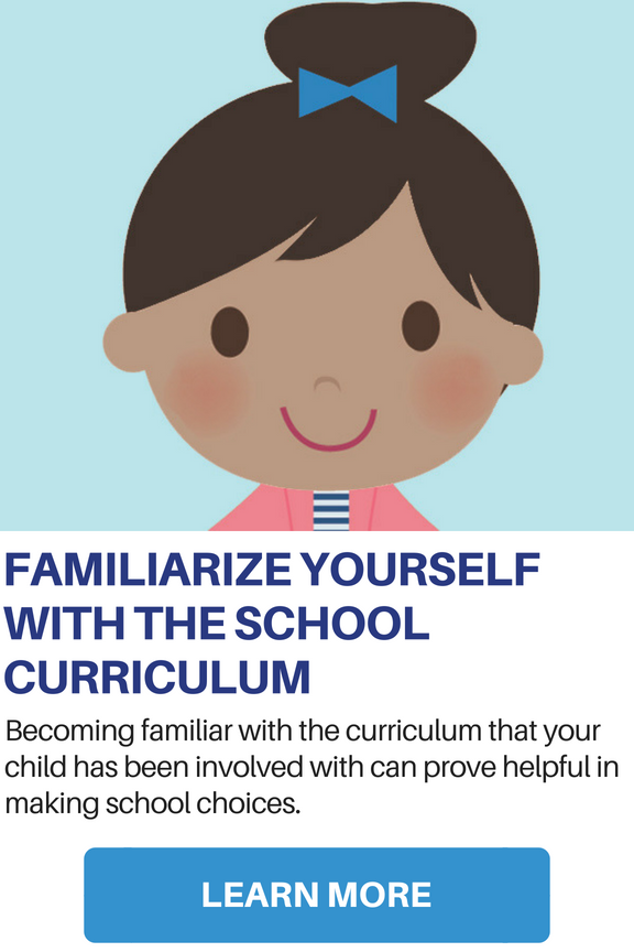 Familiarize Yourself with School Curriculum