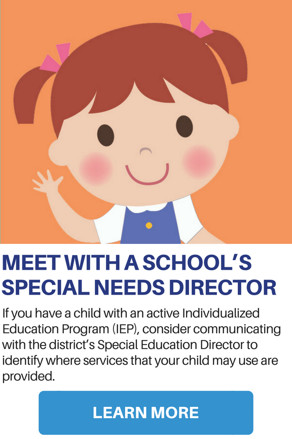 Meet with a School's Special Needs Director